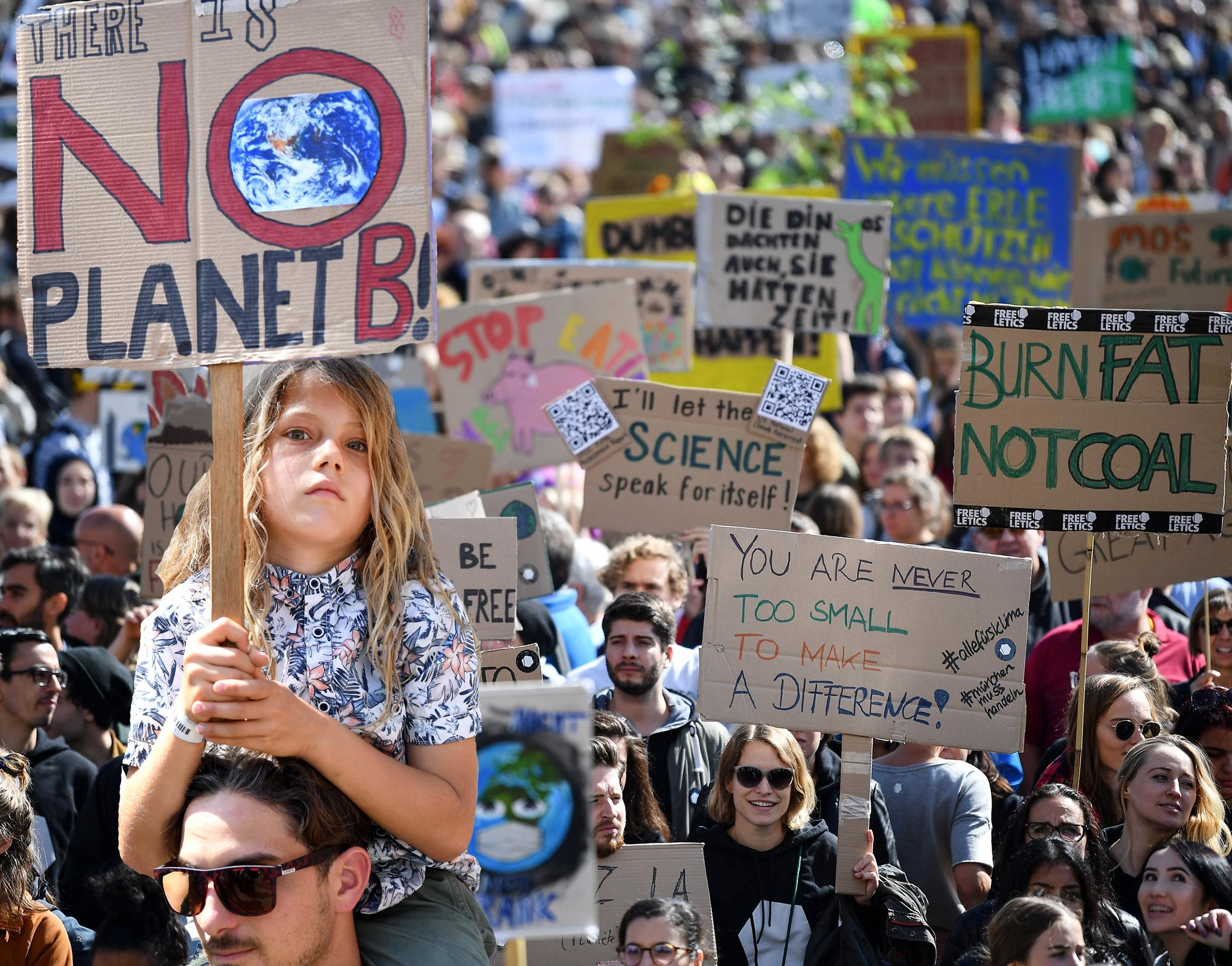 'There is no planet B': Millions take to the streets globally in what could be largest environmental protest in history