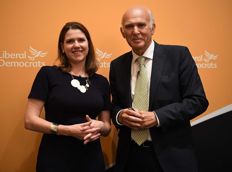Might is right: the current Lib Dem leader never took on her predecessor in an election for the post