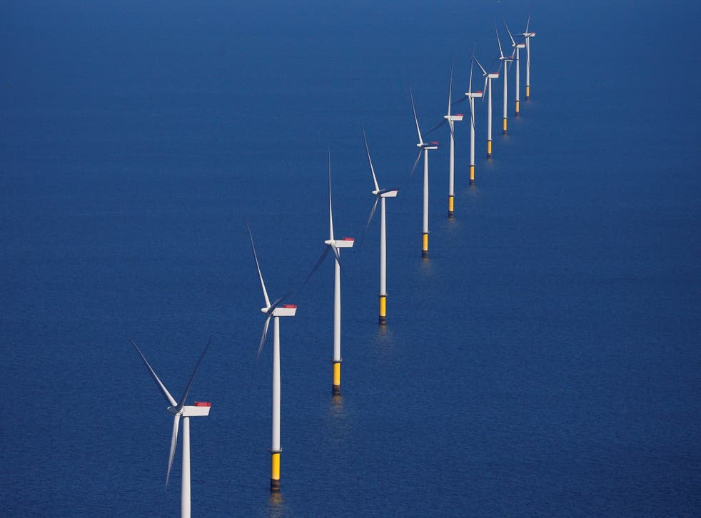 Progress on offshore wind farms will lay the foundation for future energy changes