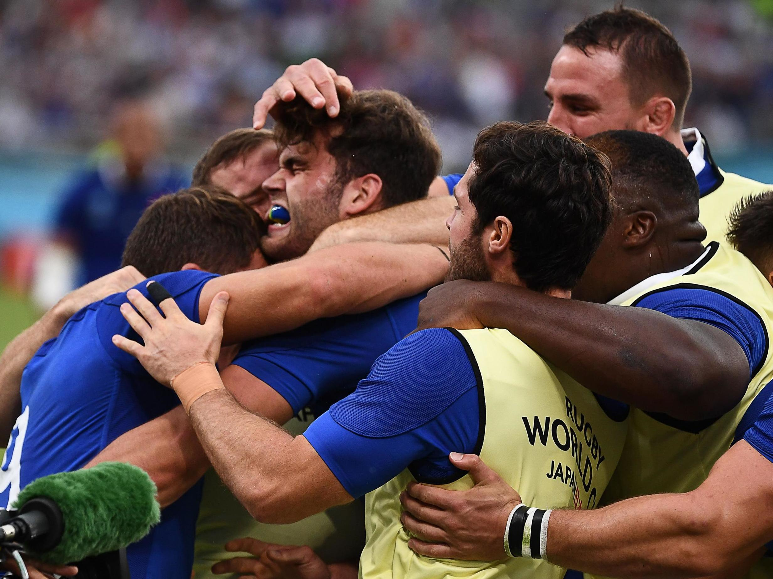 Rugby World Cup 2019: France endure nerve-shredding second-half but eventually see off Argentina