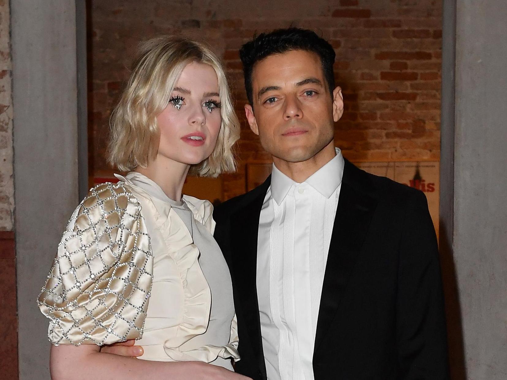 Lucy Boynton calls out 'shocking' way fans grab boyfriend Rami Malek in public