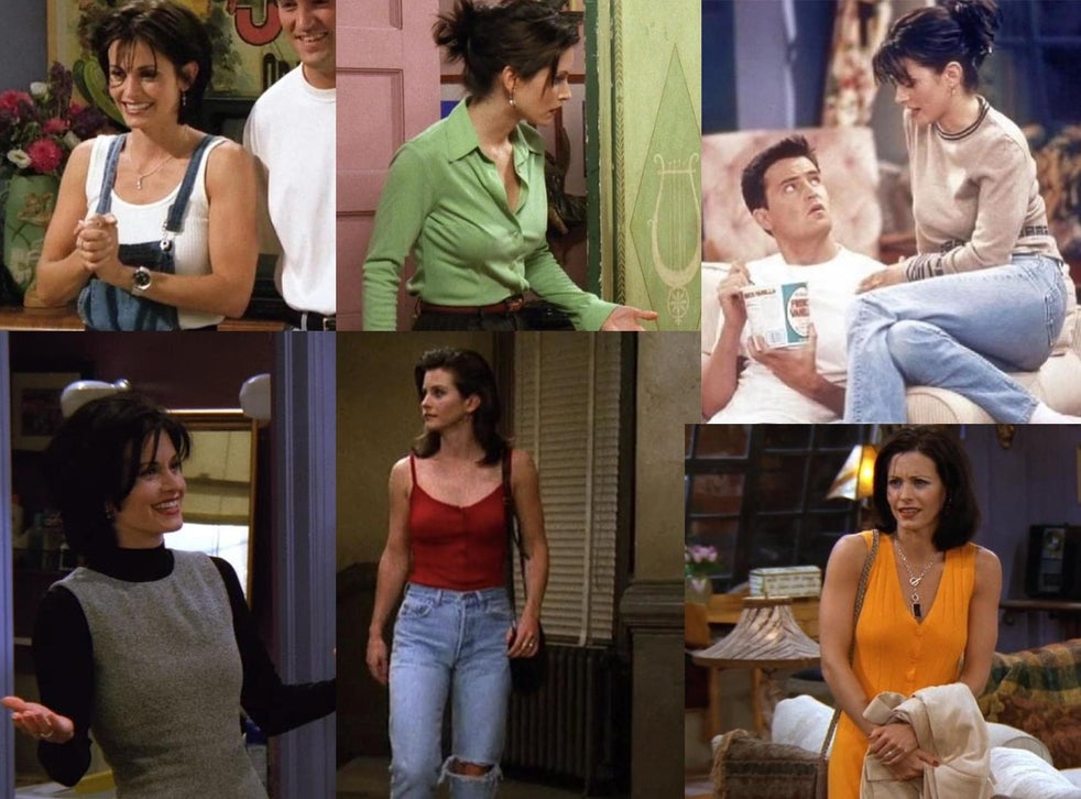Friends At 25 Why Monica Geller Was The Real Sartorial Star Of The Show The Independent The Independent