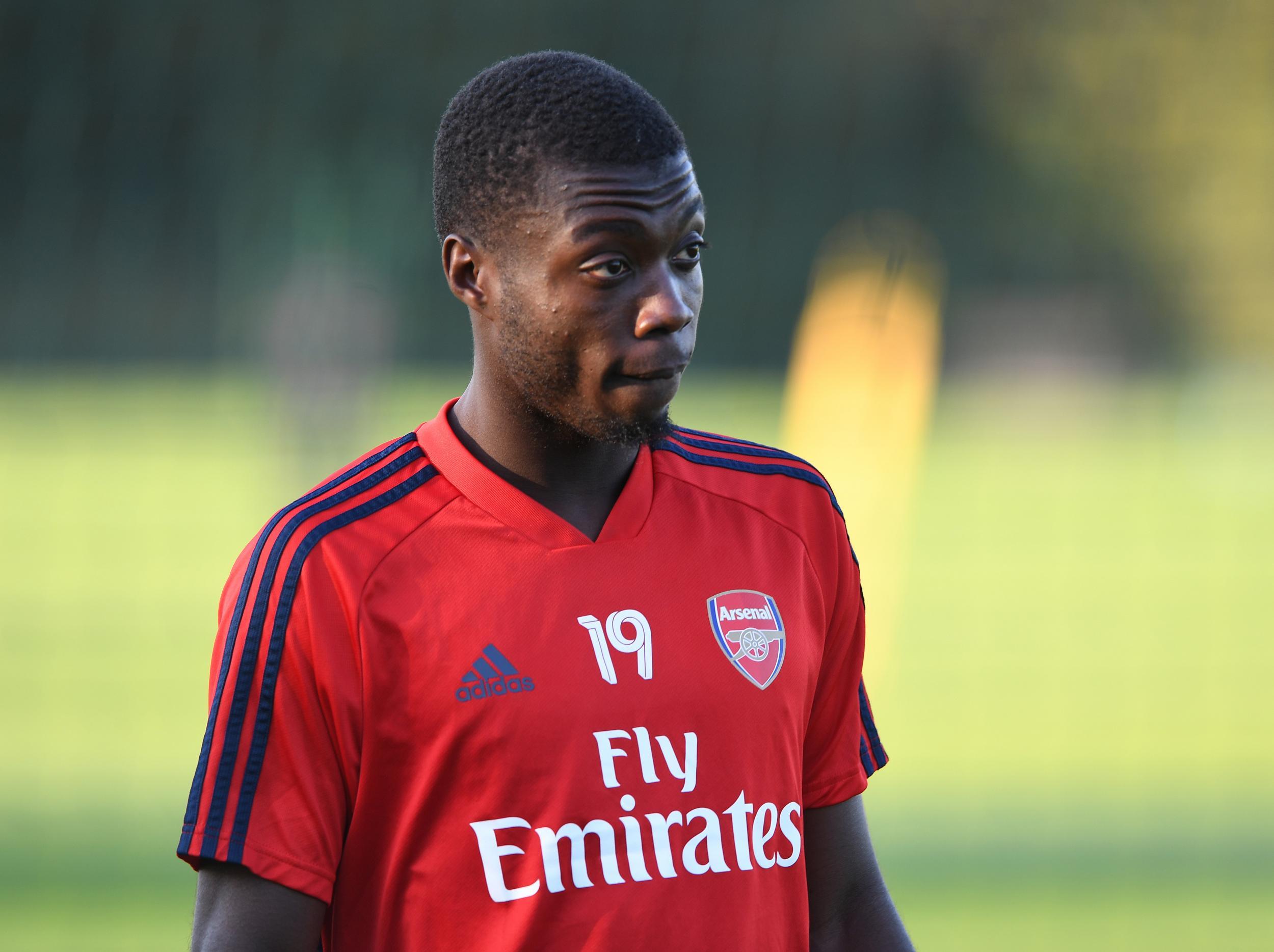 Arsenal boss Unai Emery admits summer transfer Nicolas Pepe still has plenty to do to impress him
