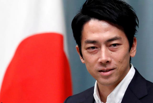 Japan's environment minister Shinjiro Koizumi has been tipped as a contender to succeed prime minister Shinzo Abe