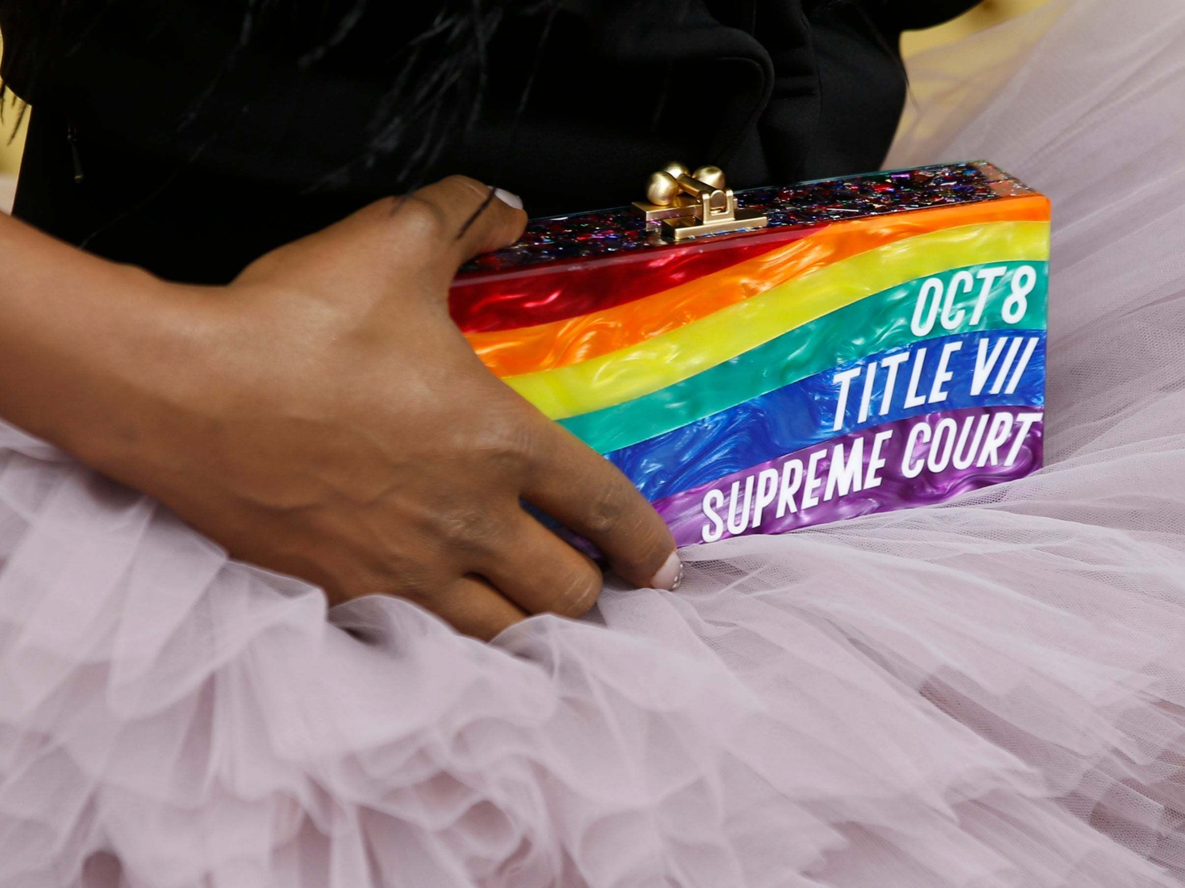 Emmy Awards 2019: Laverne Cox's rainbow clutch makes powerful statement on LGBT+ rights