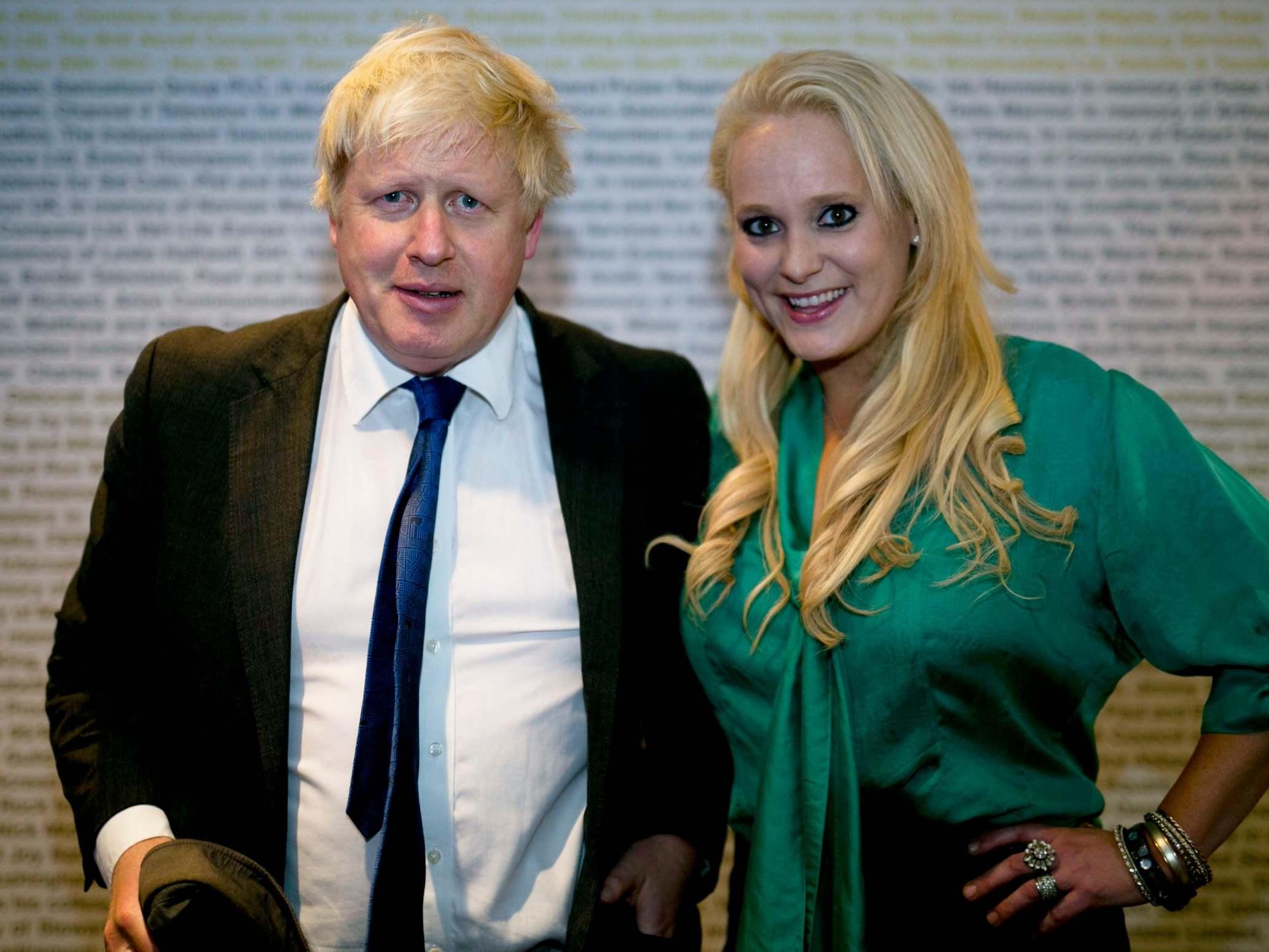 Jennifer Arcuri: Boris...
