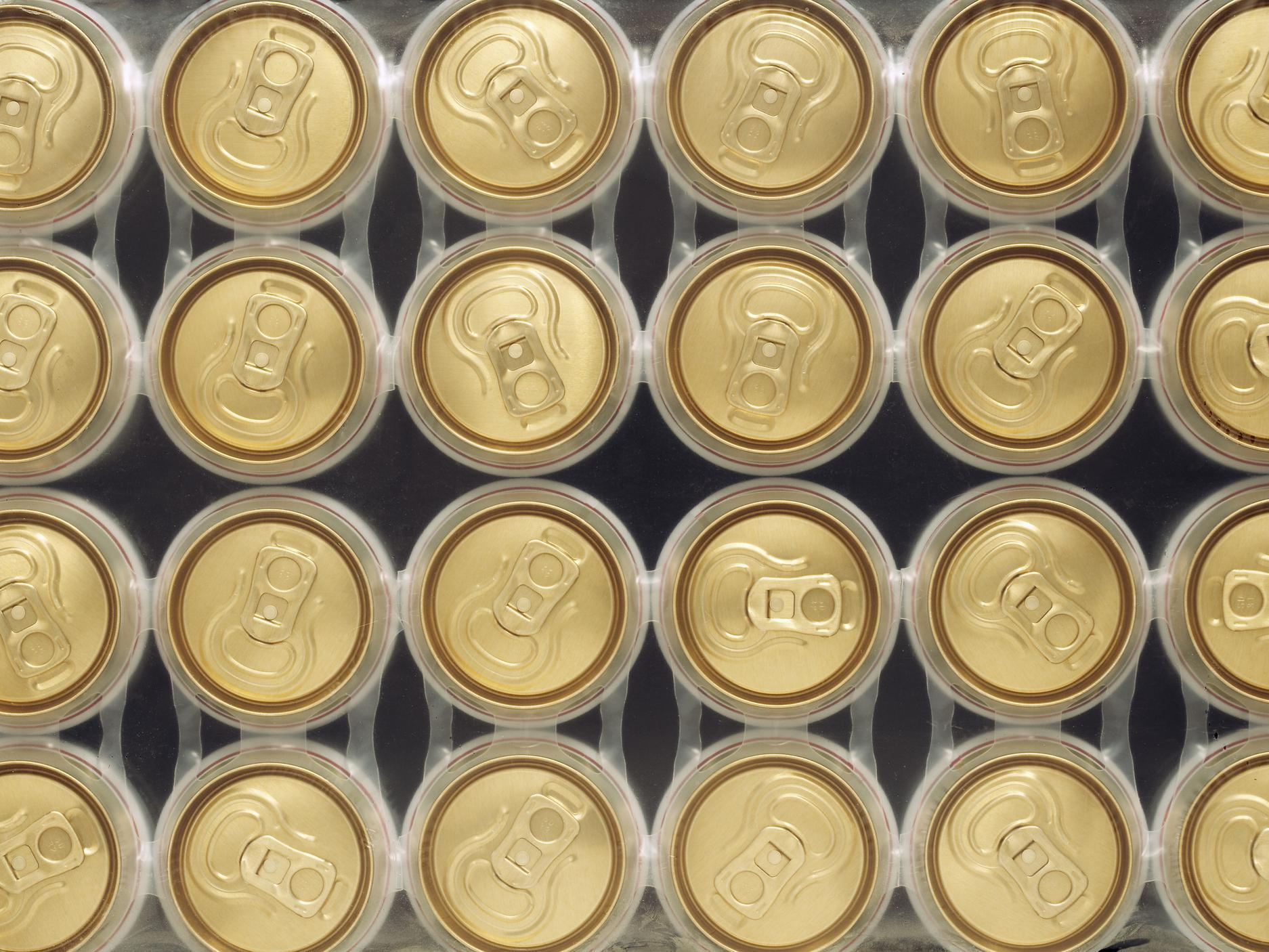 Budweiser and Stella Artois to stop using plastic ring packaging for cans of beer