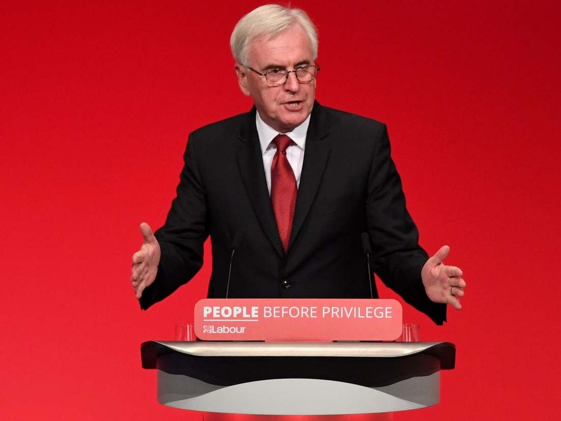If John McDonnell thinks he can pay for all of his fantasy pledges then he is utterly deluded