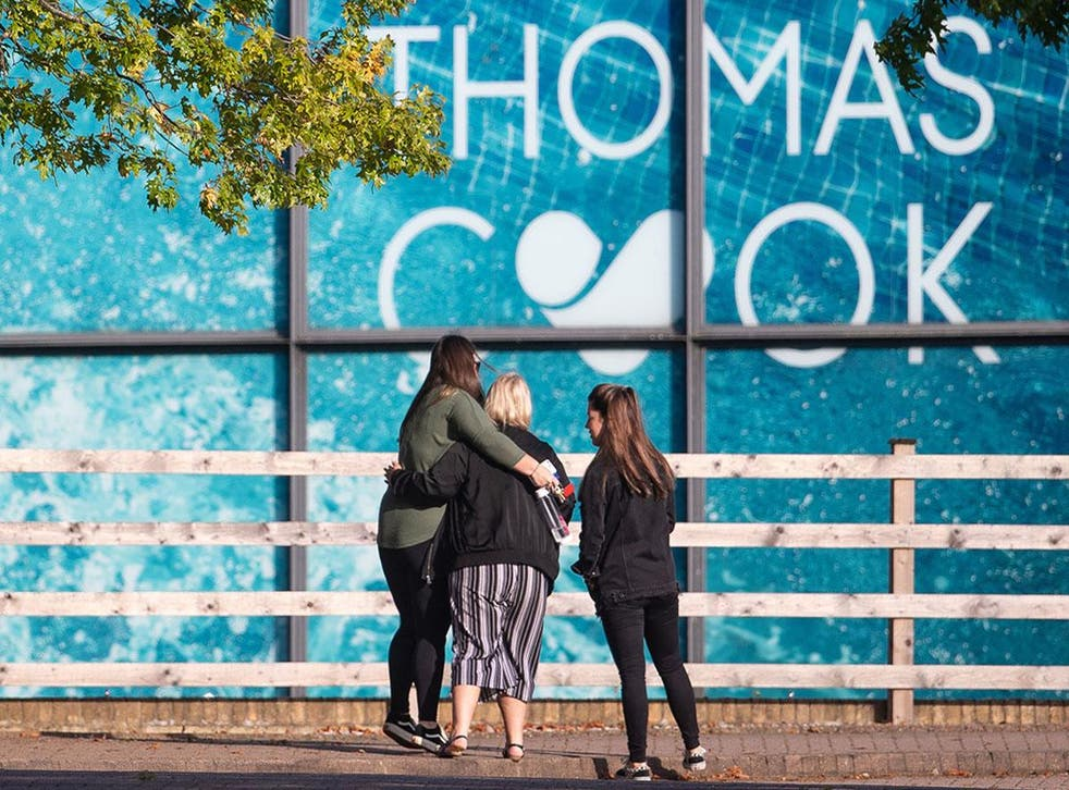 The government has called in the Insolvency Services to look into the collapse of Thomas Cook