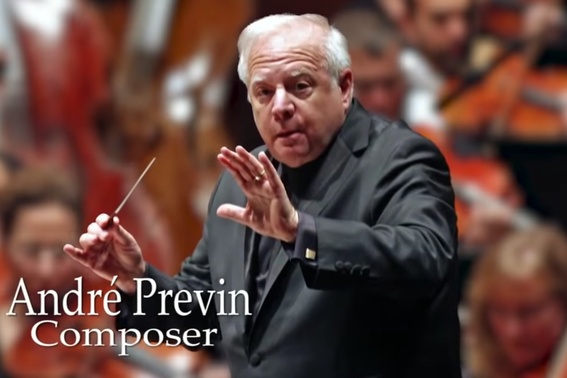 Emmys 2019: In Memoriam segment mistakenly shows photo of living conductor Leonard Slatkin instead of André Previn
