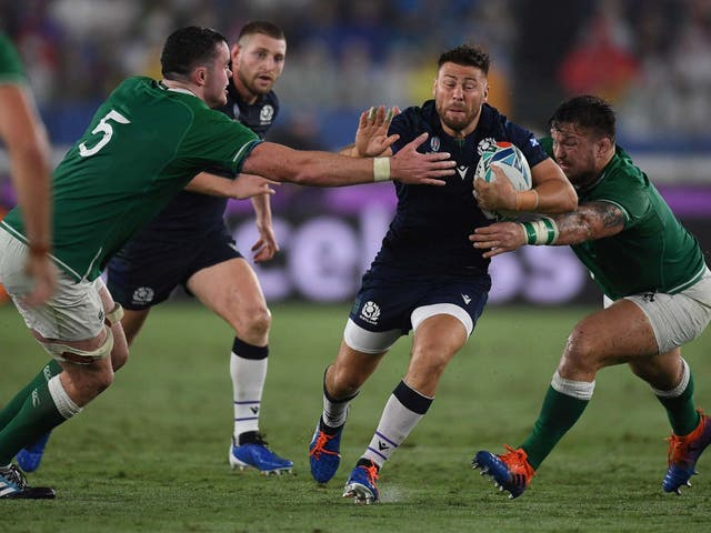 Scotland scrum-half Ali Price has been ruled out of the rest of the Rugby World Cup