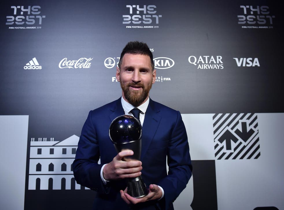 Lionel Messi could feature after winning The Best men's player on Monday