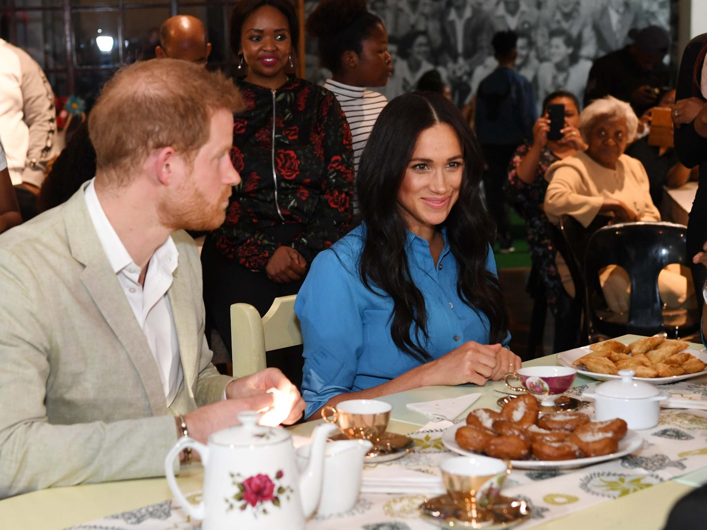 Royal tour: Meghan Markle and Prince Harry highlight 'importance of cooking' while tasting local cuisine in Cape Town 1