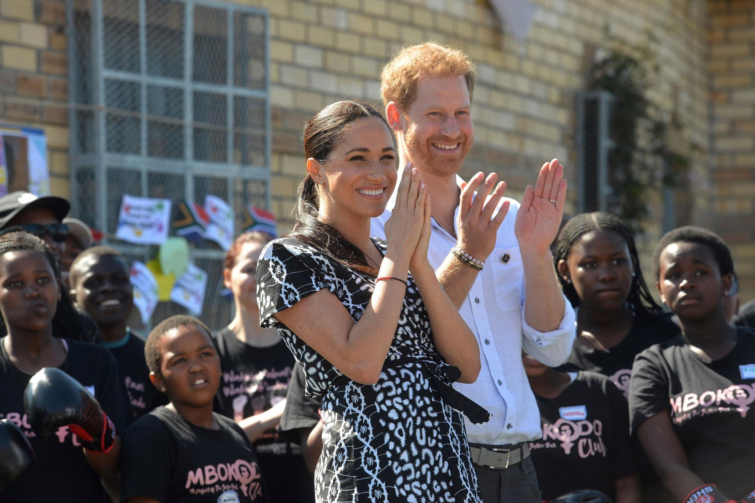 Meghan Markle and Prince Harry gifted traditional South African name for baby Archie during official tour