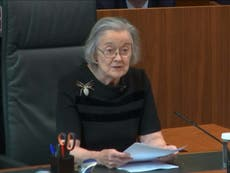Was Lady Hale's spider brooch a coded statement?
