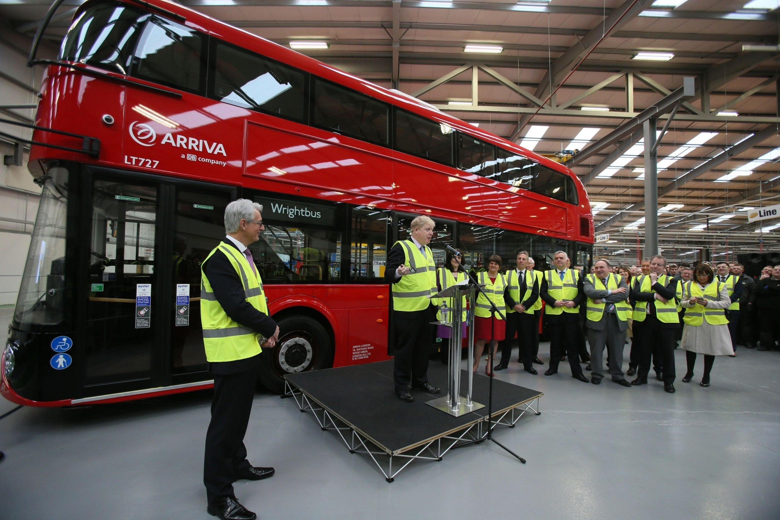 Maker of 'Boris Bus' collapses into administration, risking 1,400 jobs