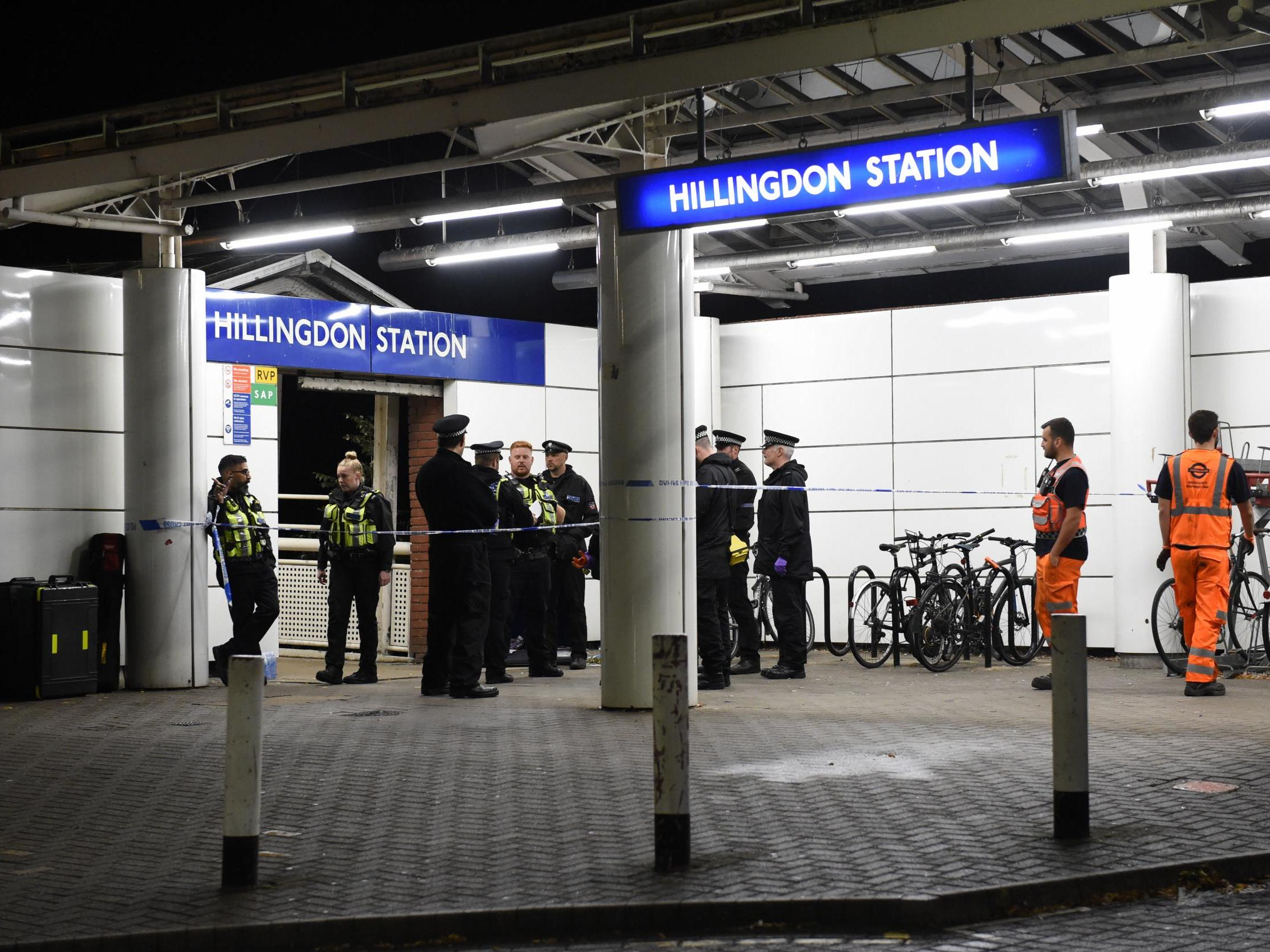 Hillingdon stabbing: Man killed in Tube station fight was Arsenal fan on way to match, police say