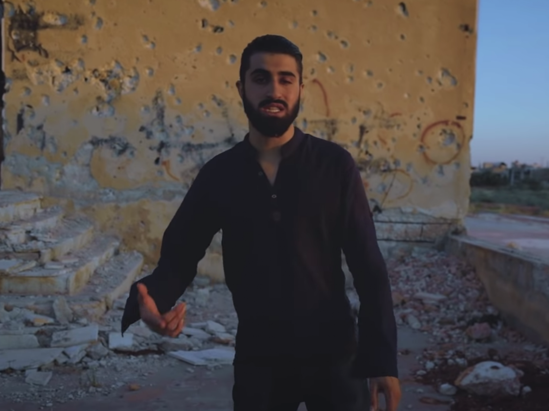 Straight outta Idlib: Syrian rapper takes aim at warlords and dictators