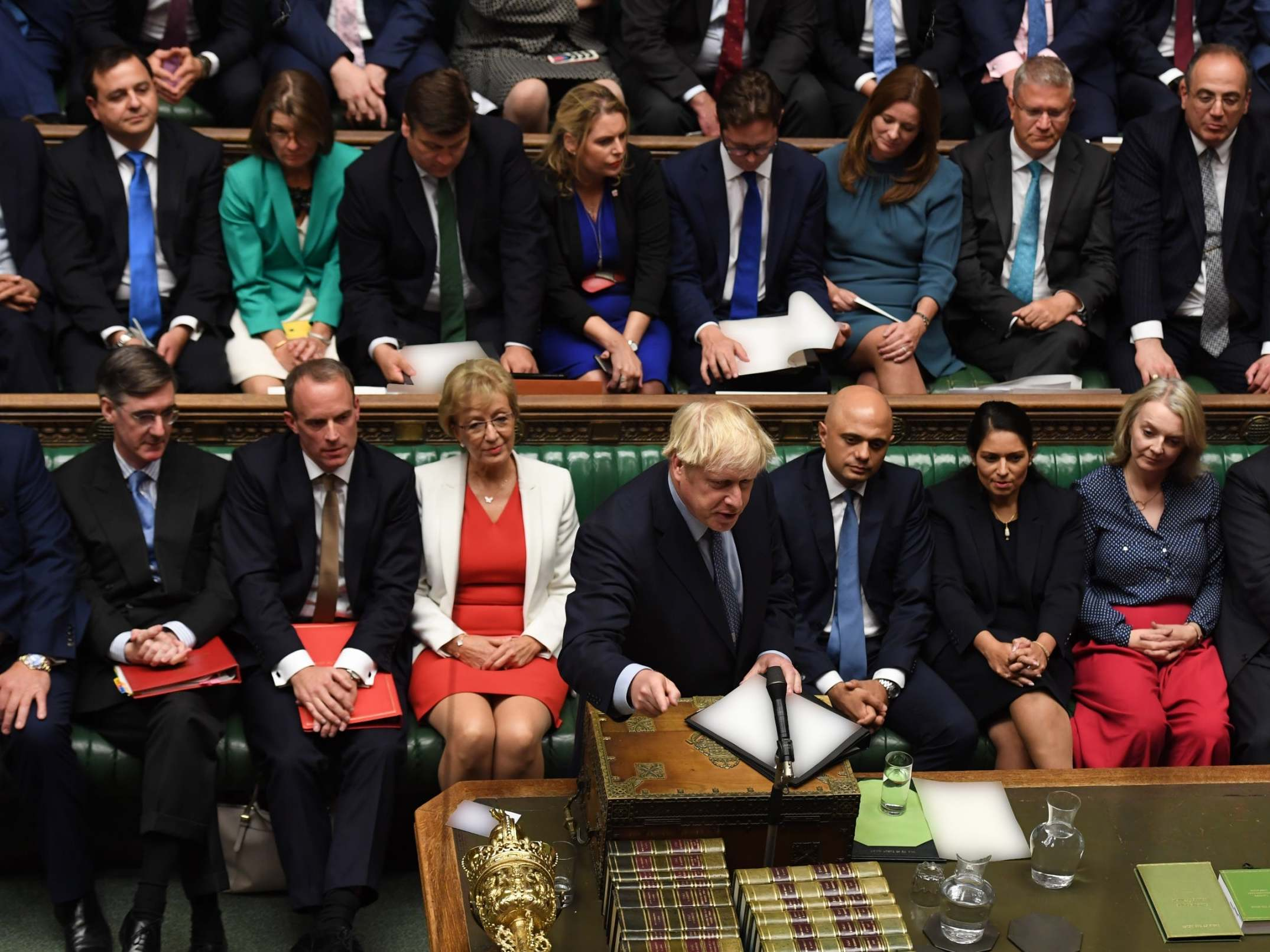 Does Boris Johnson have the votes for parliament to pass his deal, if the EU agrees to it?