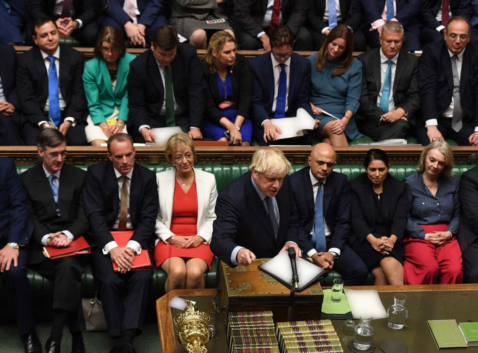 I've started so I'll finish: the prime minister refused to moderate his tone of language in the Commons
