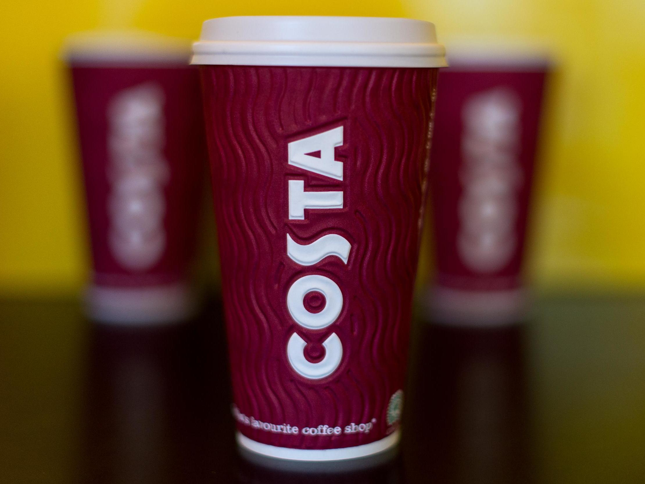 Costa Express is offering free coffee for an entire day 1