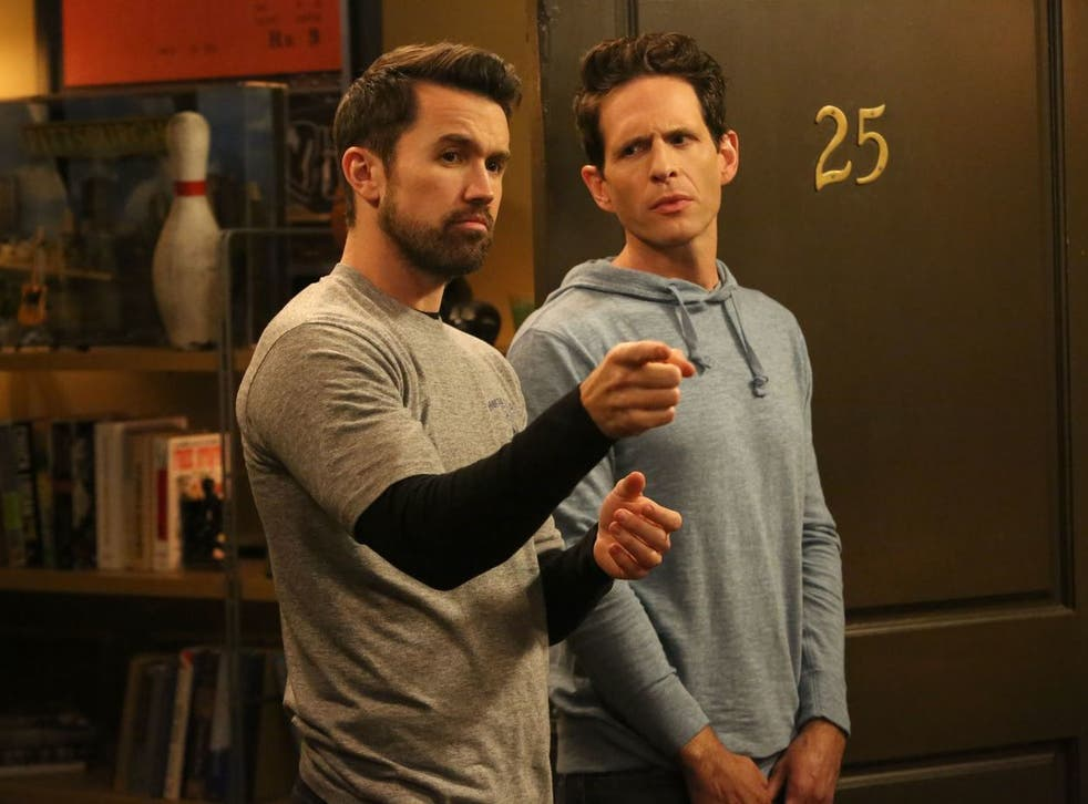With friends like these... Rob McElhenney and Glenn Howerton in the US sitcom