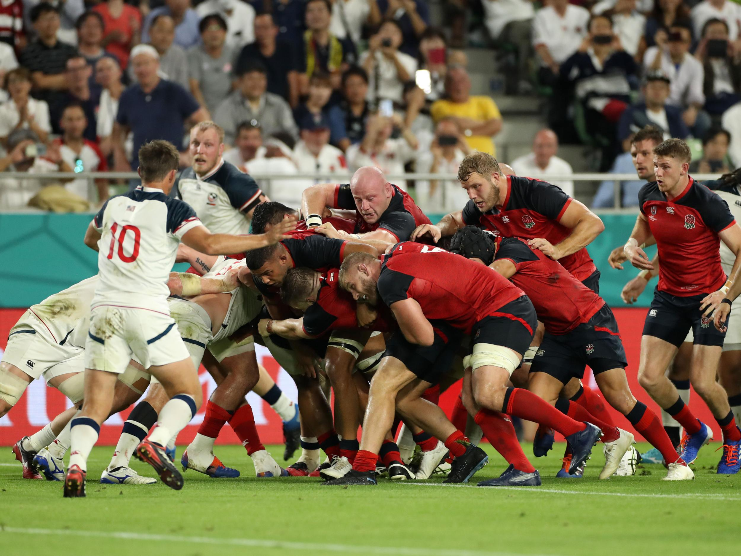 Rugby World Cup 2019: How England mauled the USA on their way to comfortable victory