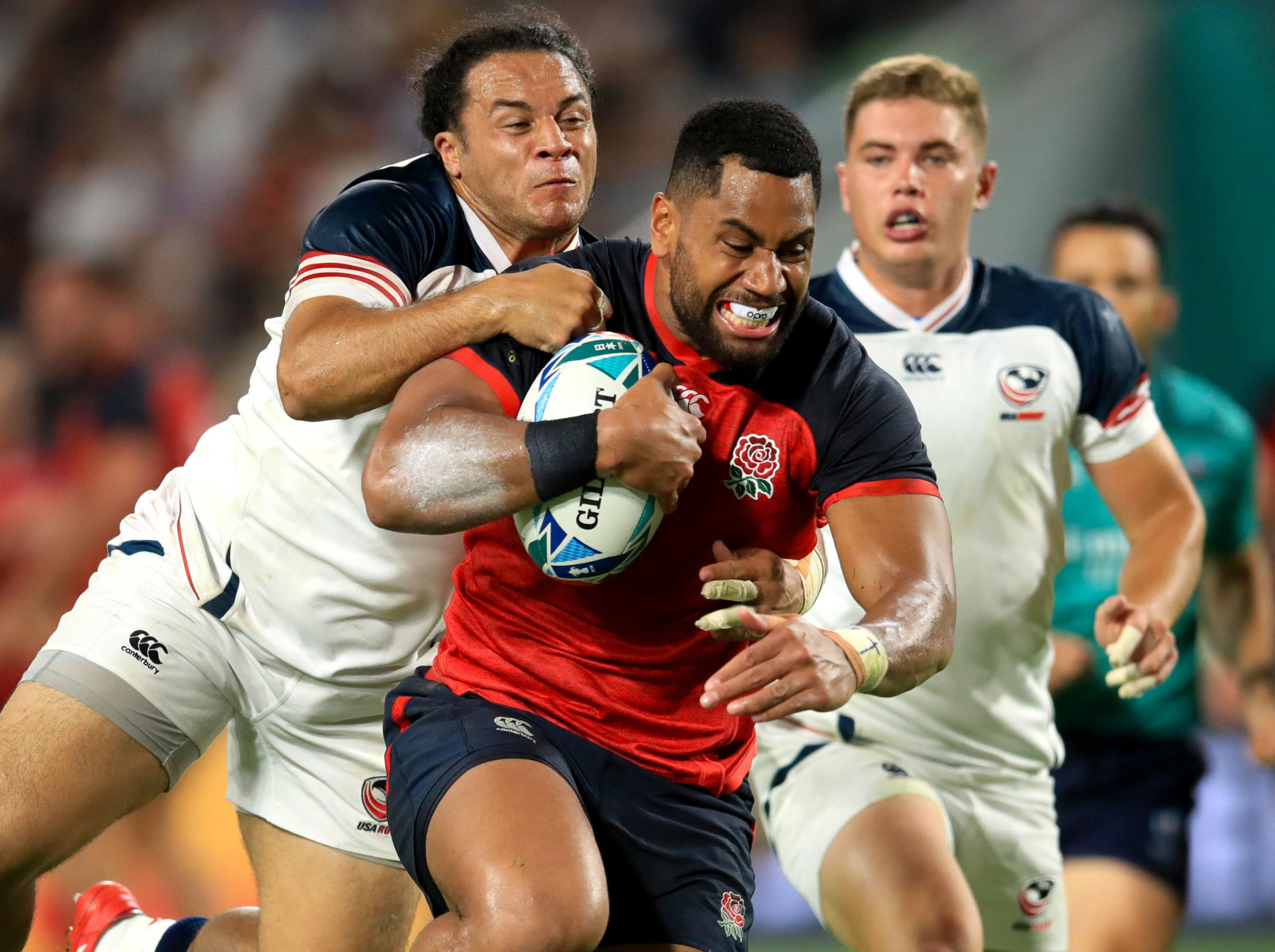 Rugby World Cup 2019: Joe Cokanasiga the star attraction as England rout the USA