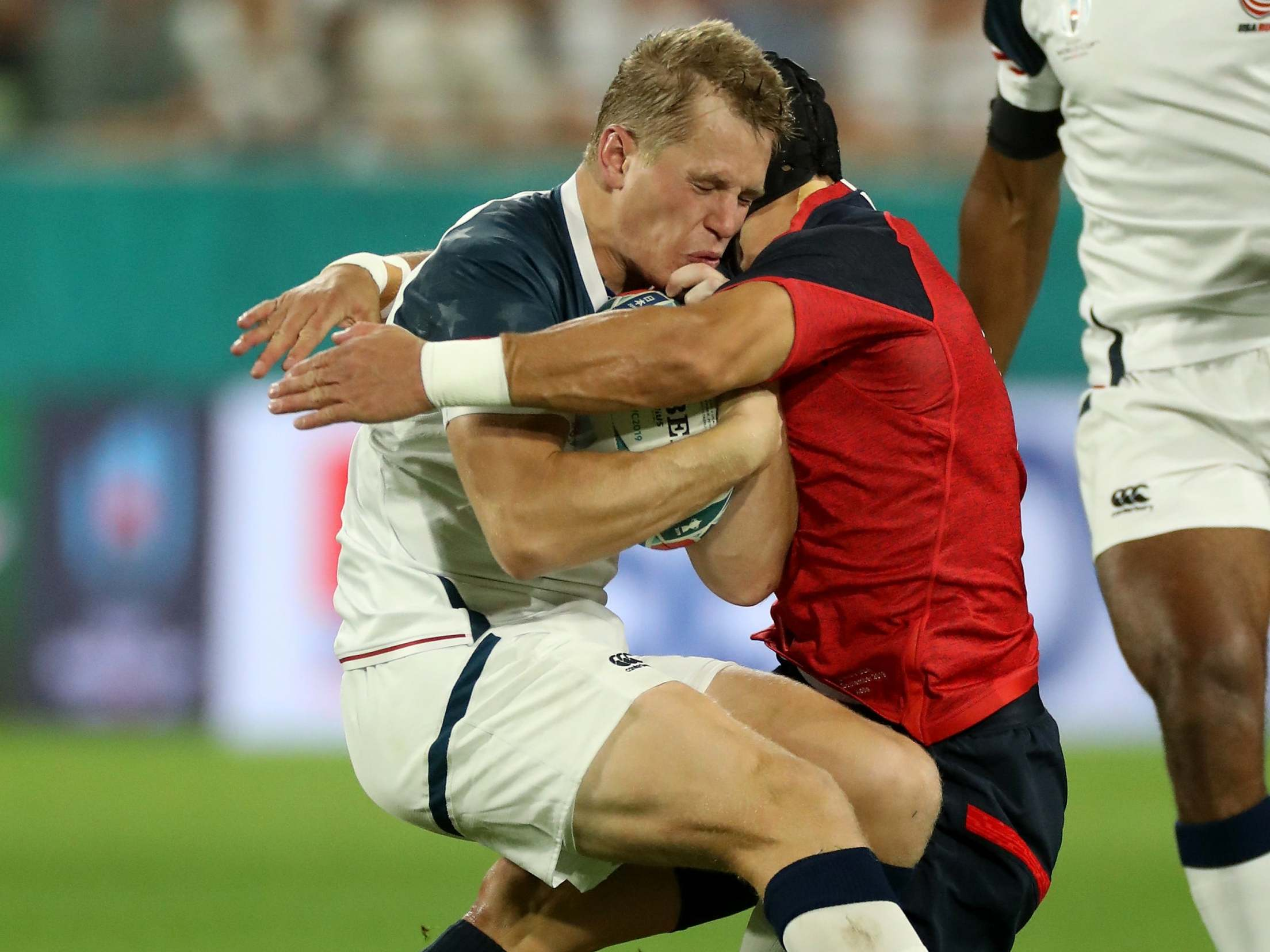 Rugby World Cup 2019: Eddie Jones will accept any disciplinary action as England sweat on Piers Francis tackle