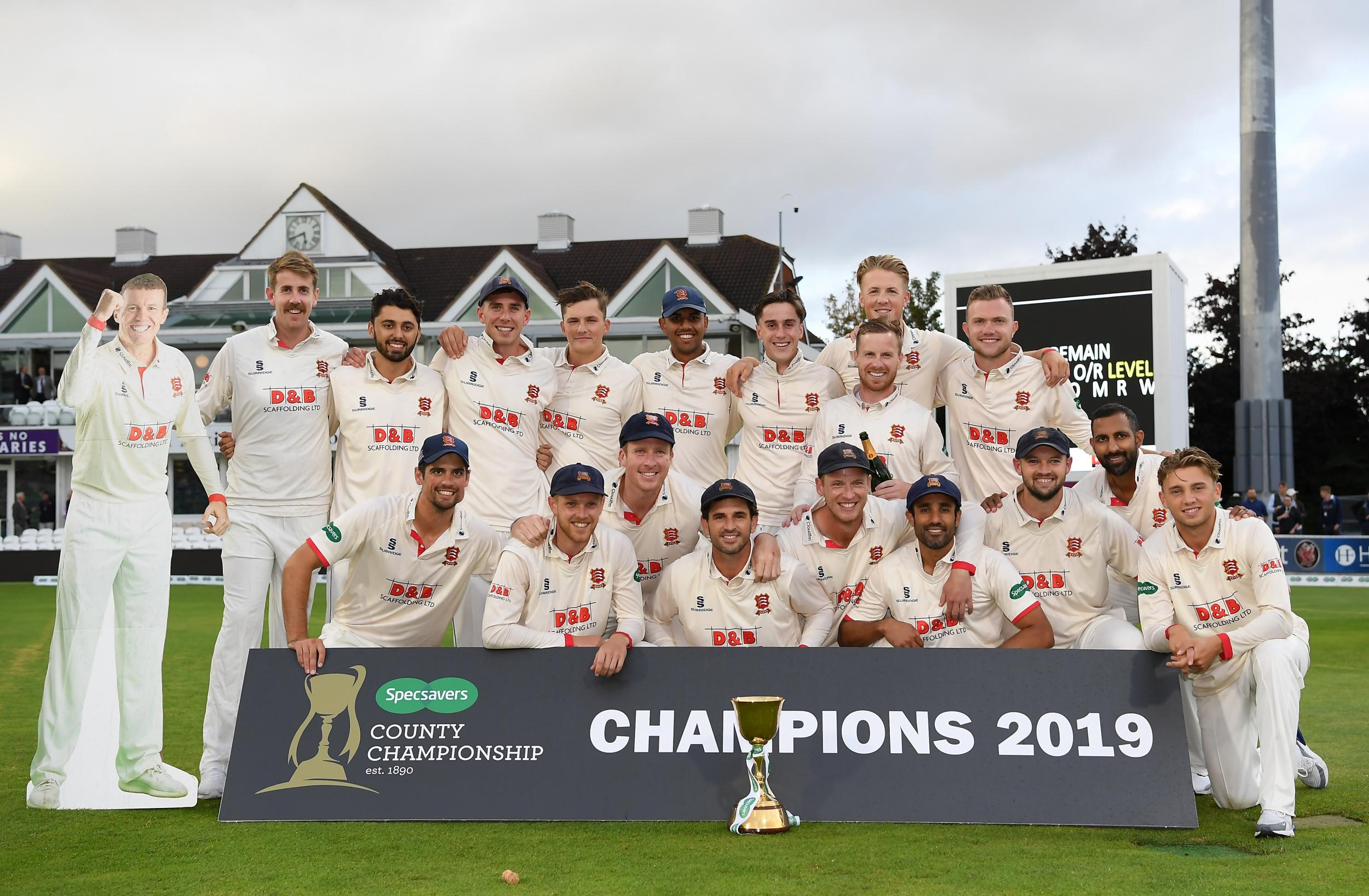 County Championship: Essex win 2019 title despite late drama at Somerset