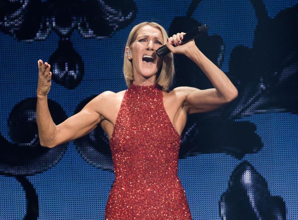 <p>Celine Dion</p>