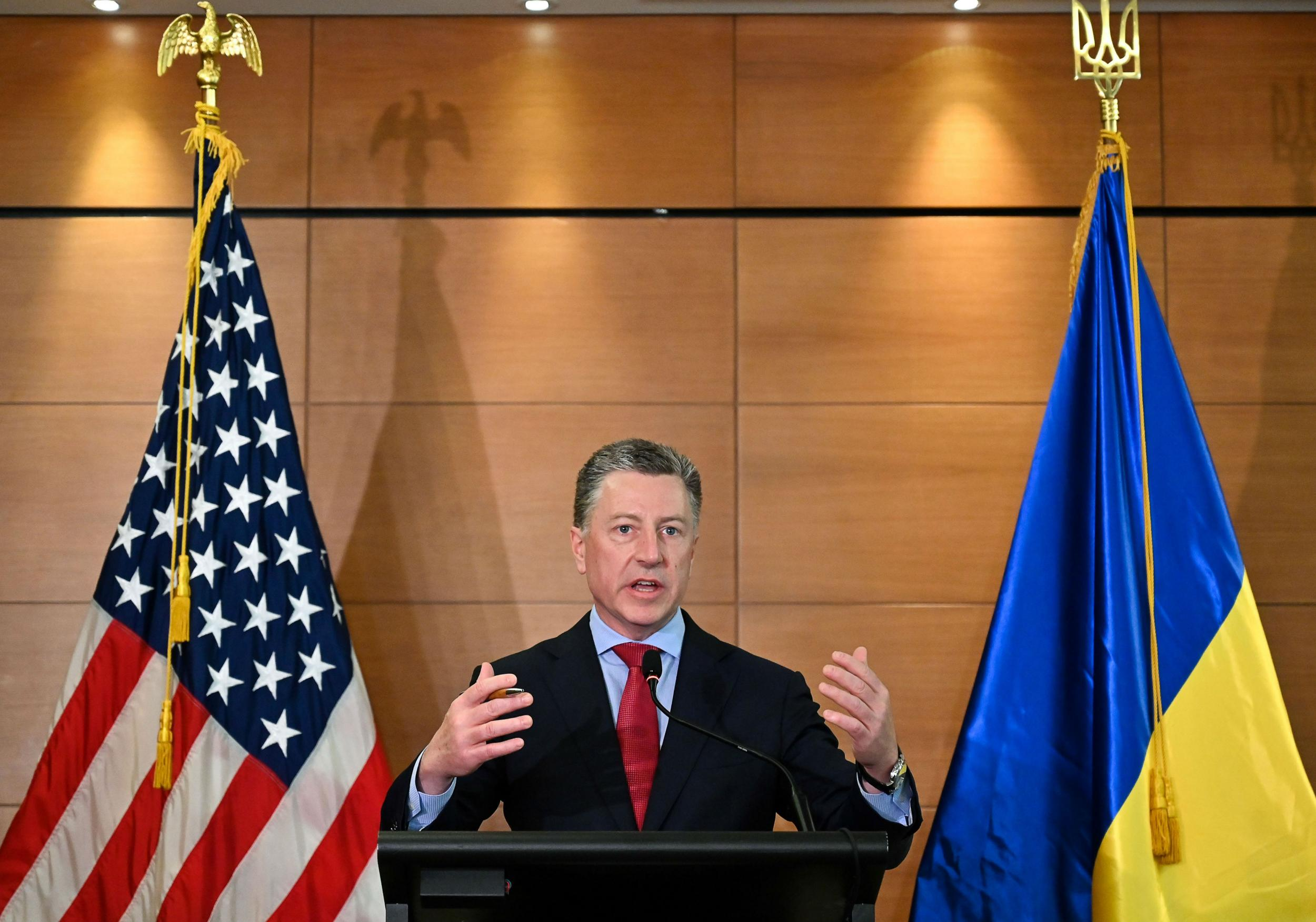Trump envoy to Ukraine resigns after being named in whistleblower complaint