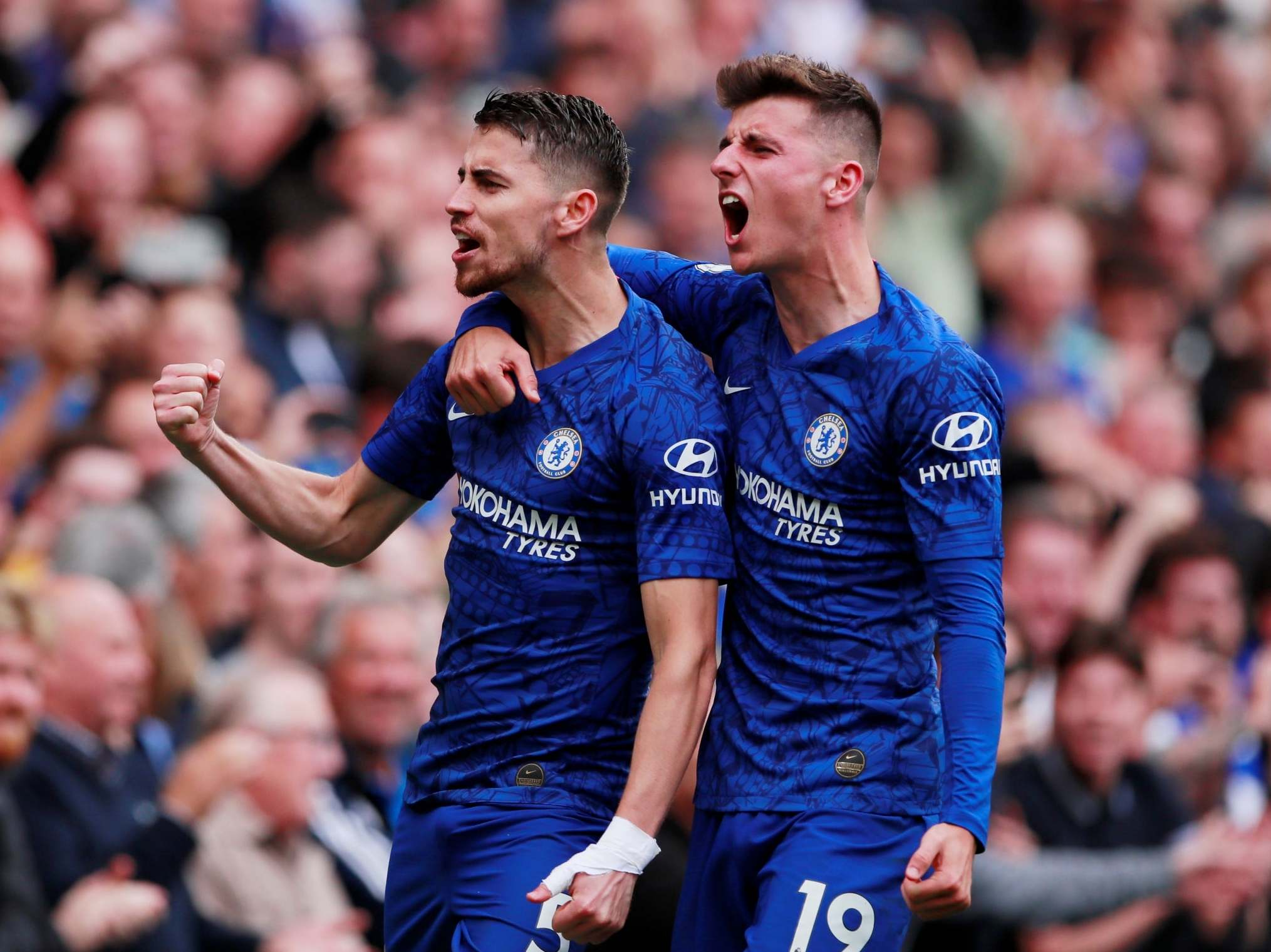 Chelsea vs Brighton result: Jorginho and Willian net Frank ...Chelsea