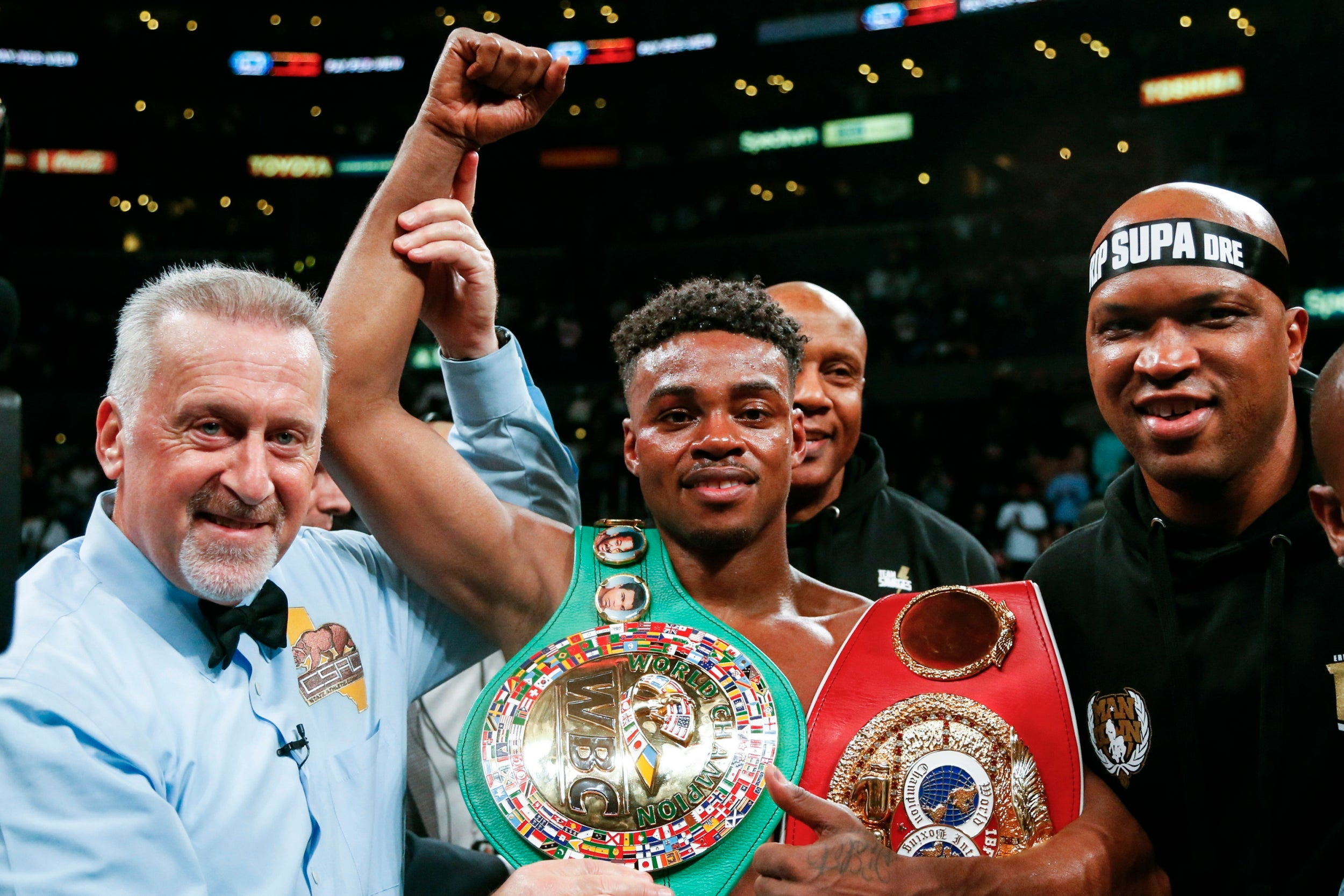 World champion boxer Errol Spence in critical condition after being ejected from Ferrari in horror car crash