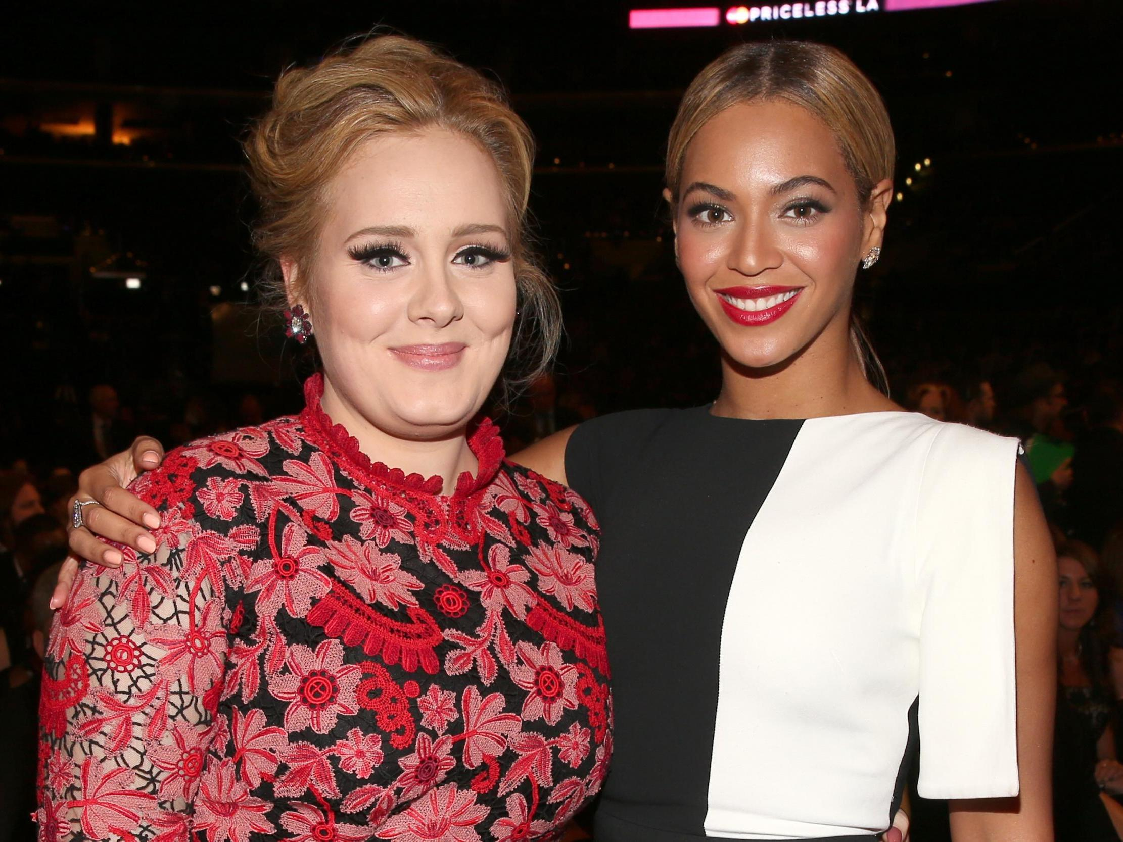 Adele, Beyoncé and Coldplay's Chris Martin join forces for star-studded collaboration
