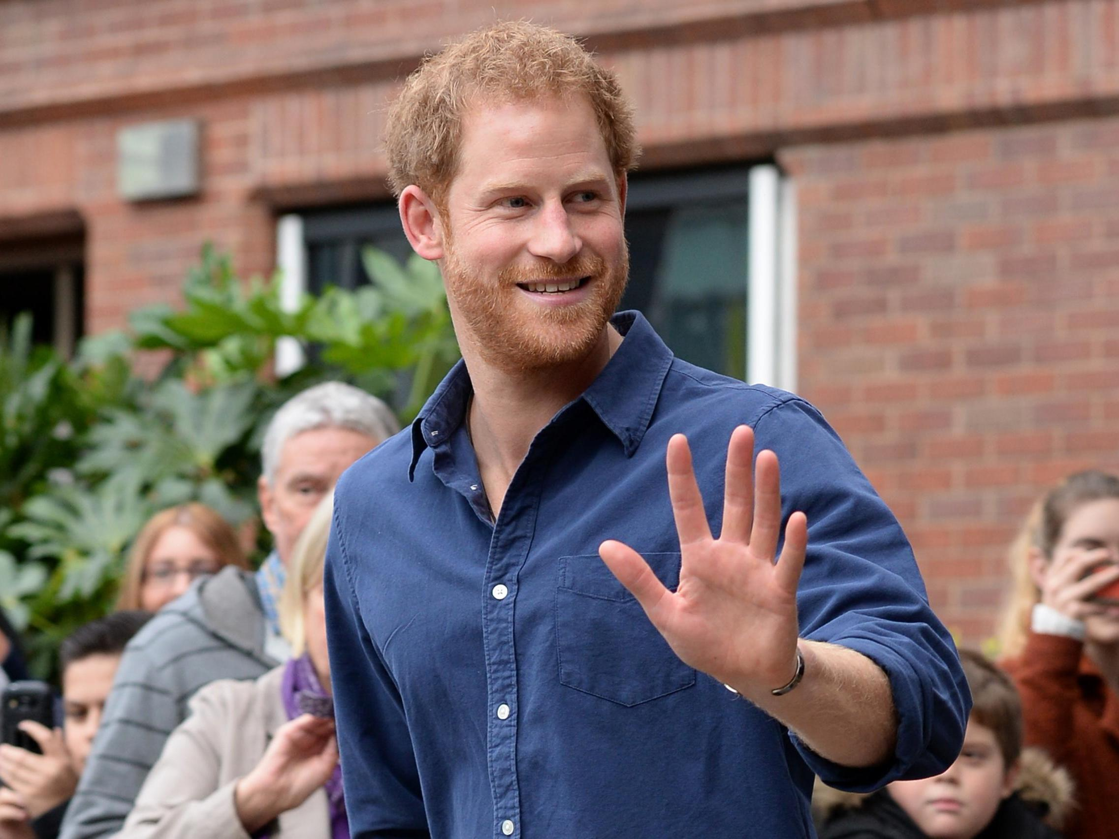 Prince Harry launches campaign encouraging people to 'share the beauty of trees'