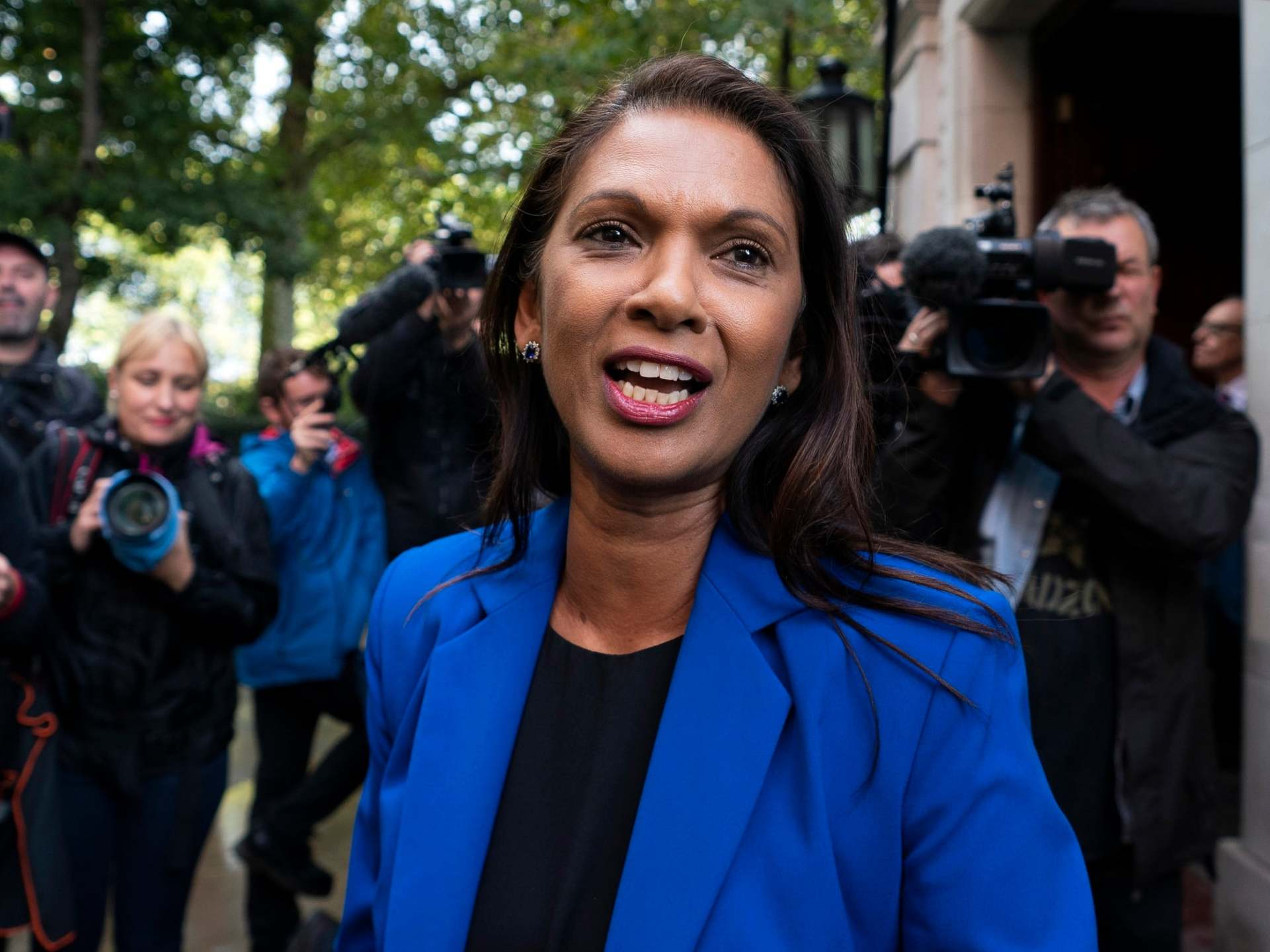 Gina Miller: Anti-Brexit activist 'abused by strangers' while out with young daughter
