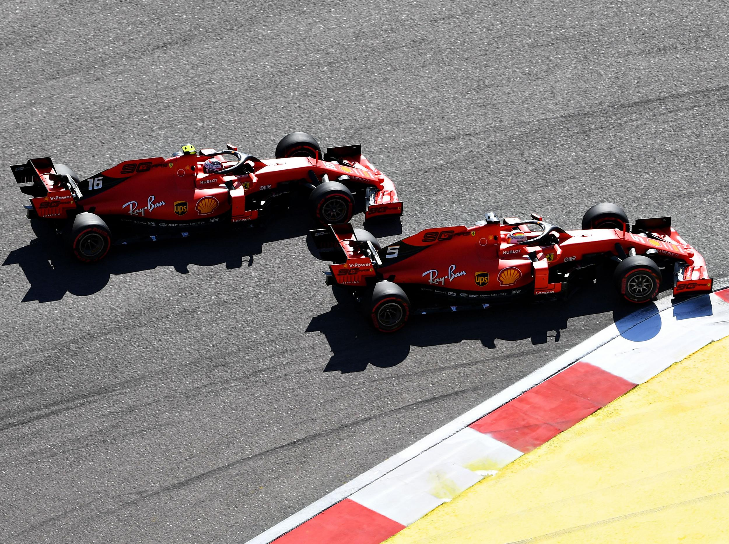 Russian Grand Prix 2019: Jenson Button questions Ferrari's curious race  tactics | The Independent | The Independent