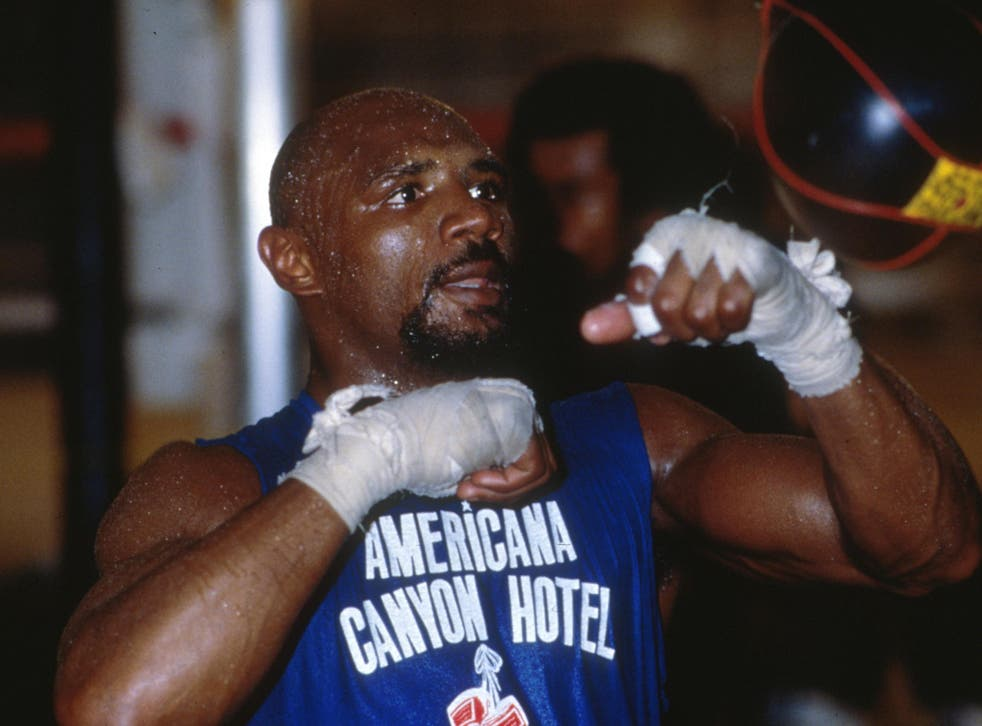 Hagler was undisputed middleweight champion from 1980 to 1987