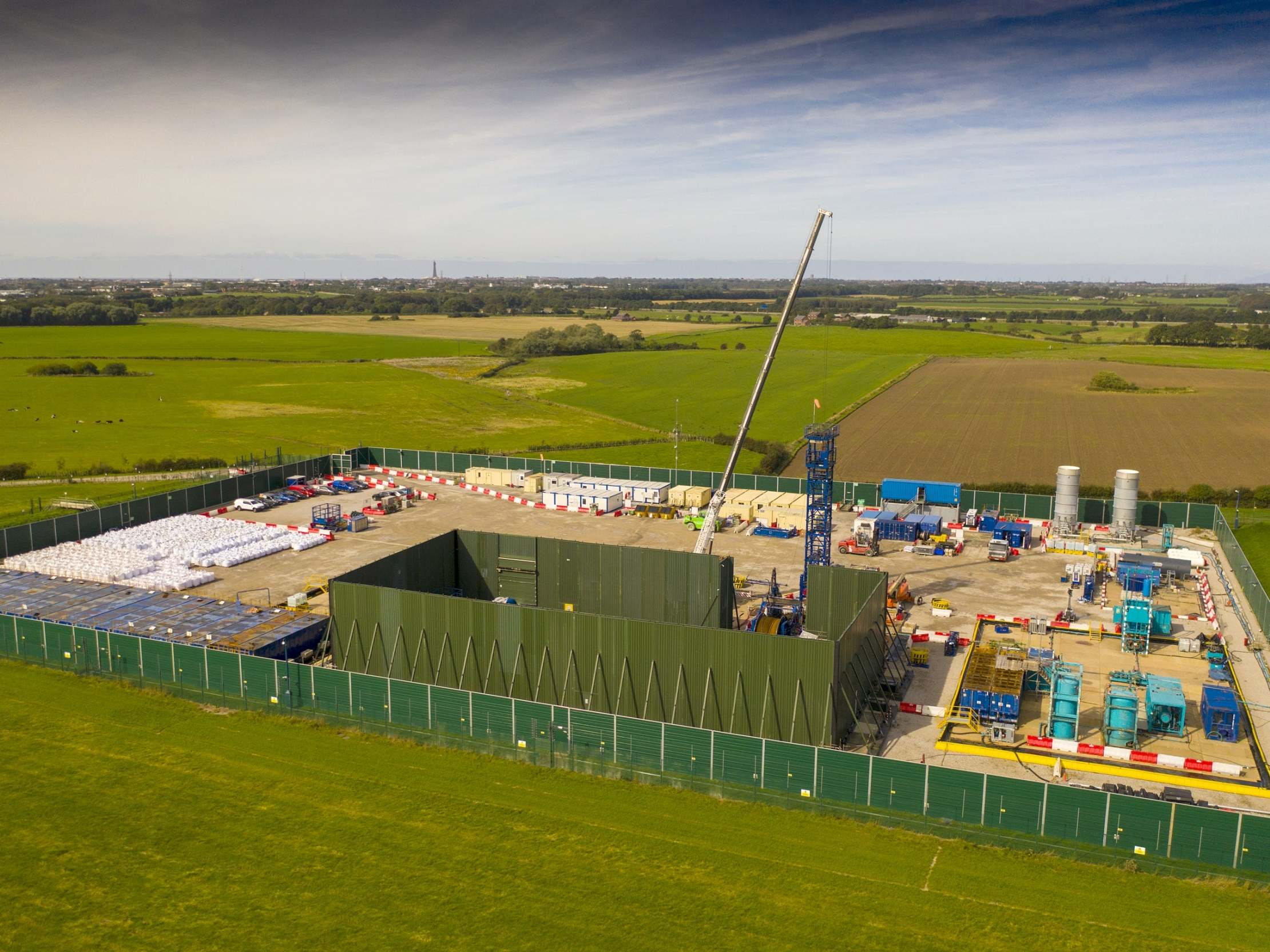 Fracking equipment removed from Cuadrilla site after operations suspended: 'Work at this site could soon be at an end'
