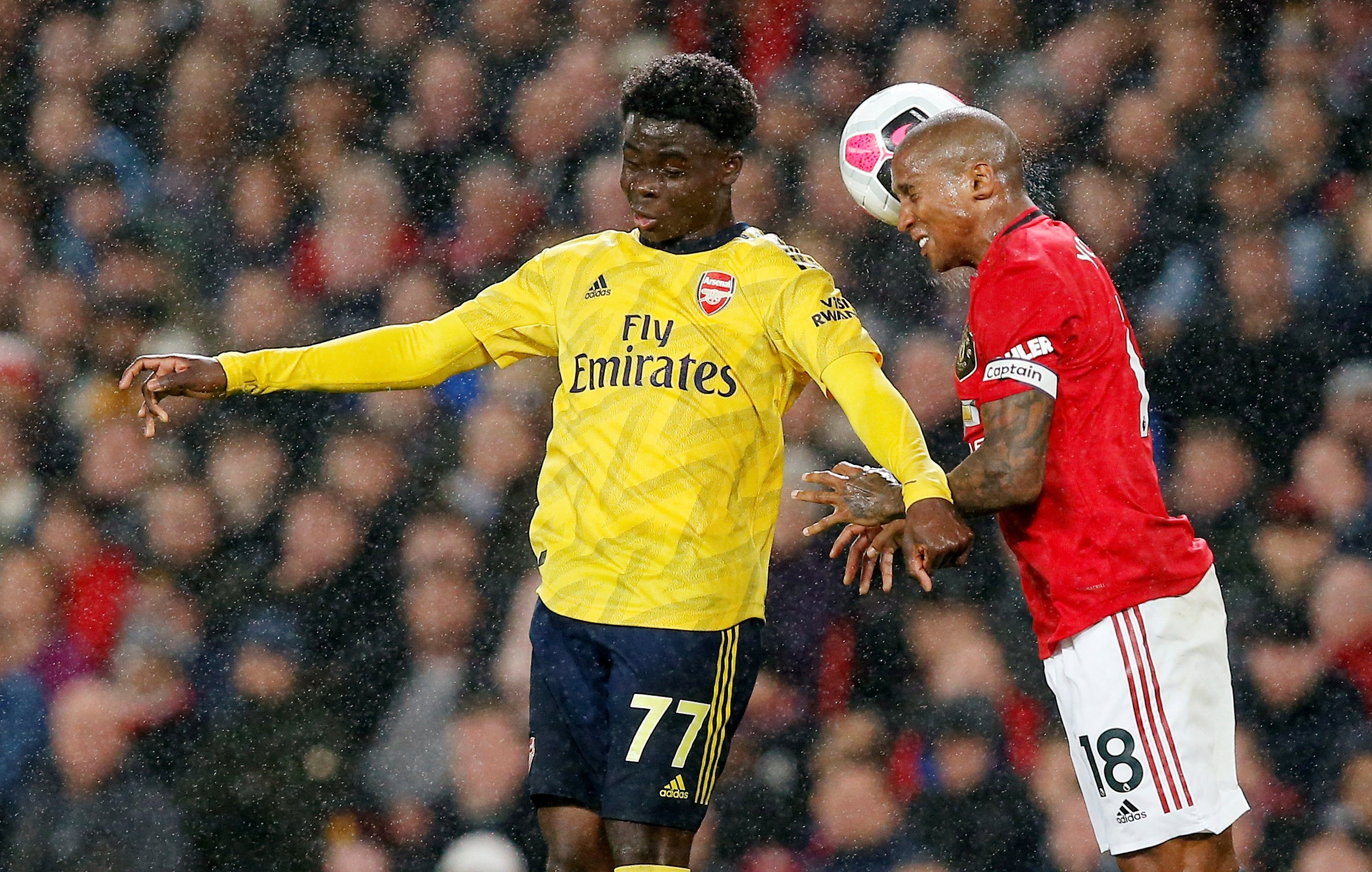 Manchester United vs Arsenal result: Mistake-riddled draw