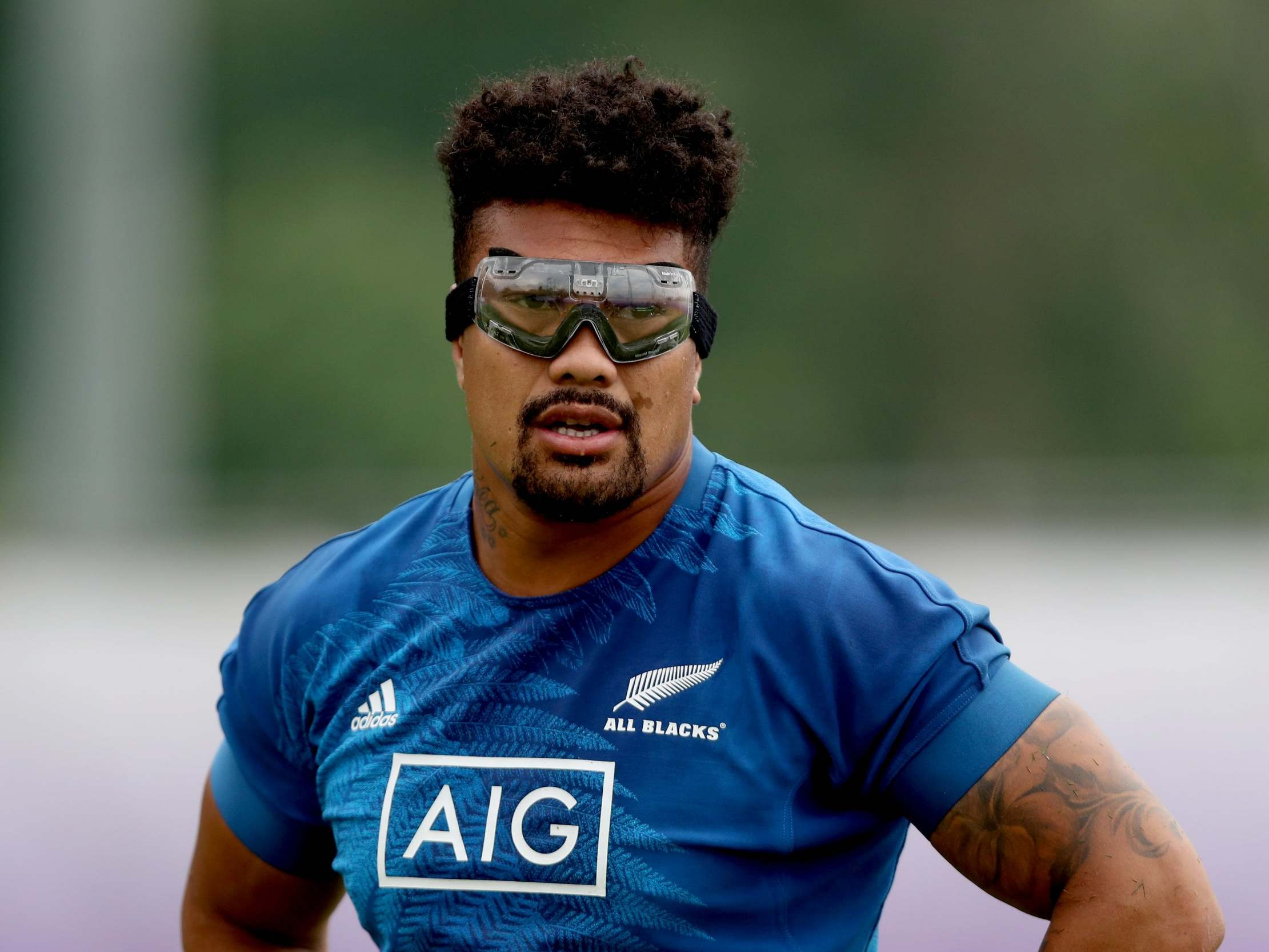 Rugby World Cup 2019 New Zealand S Ardie Savea To Make History As First Player To Wear Goggles The Independent The Independent