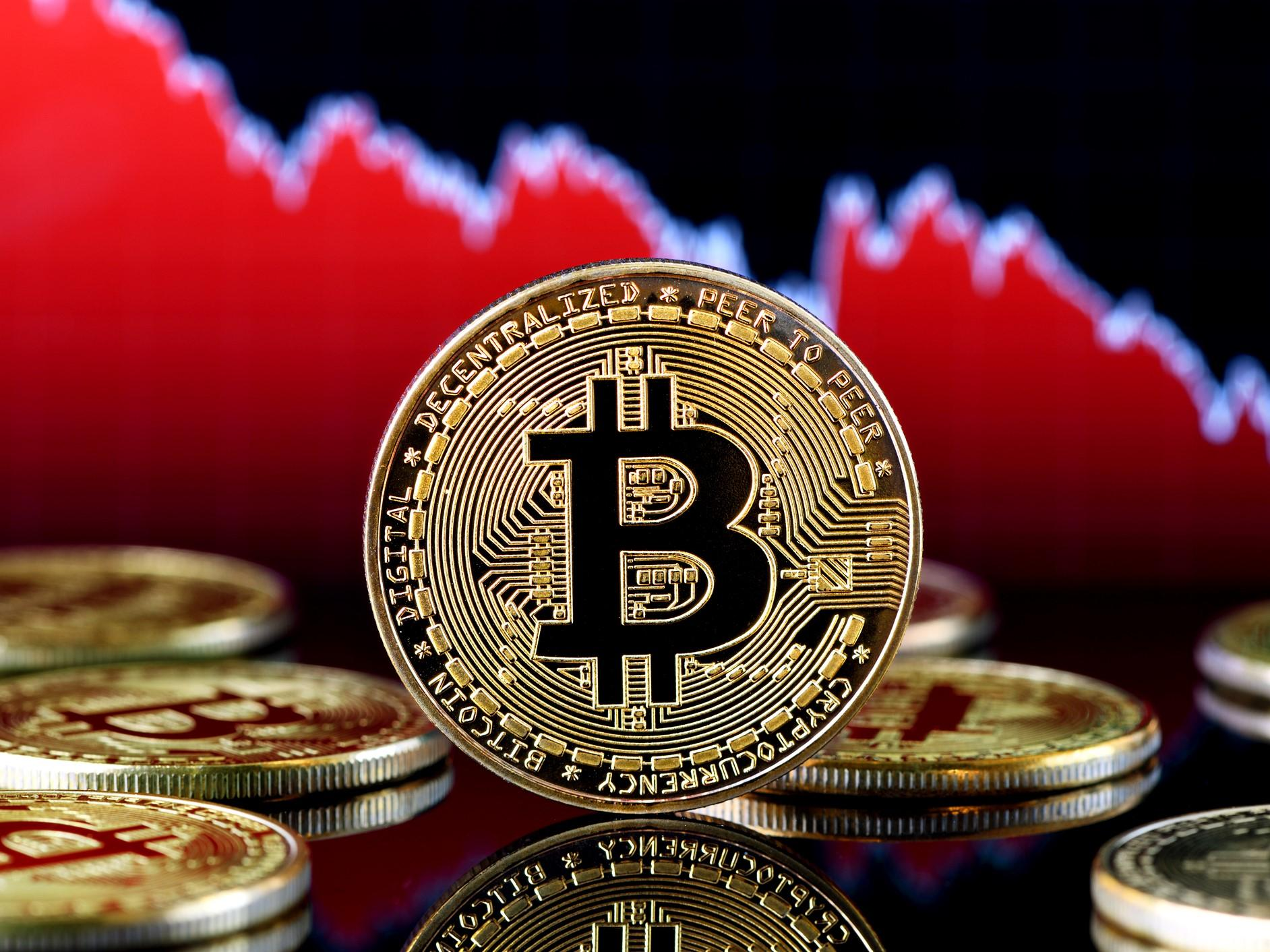 Bitcoin price plummets amid mysterious cryptocurrency market crash