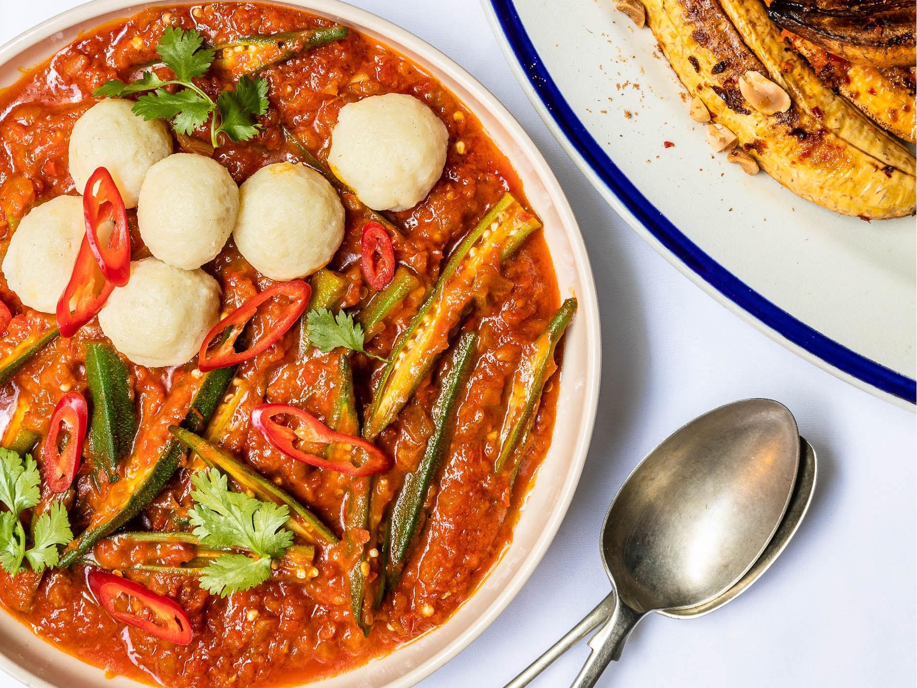 How to make Ghanaian okra stew 1