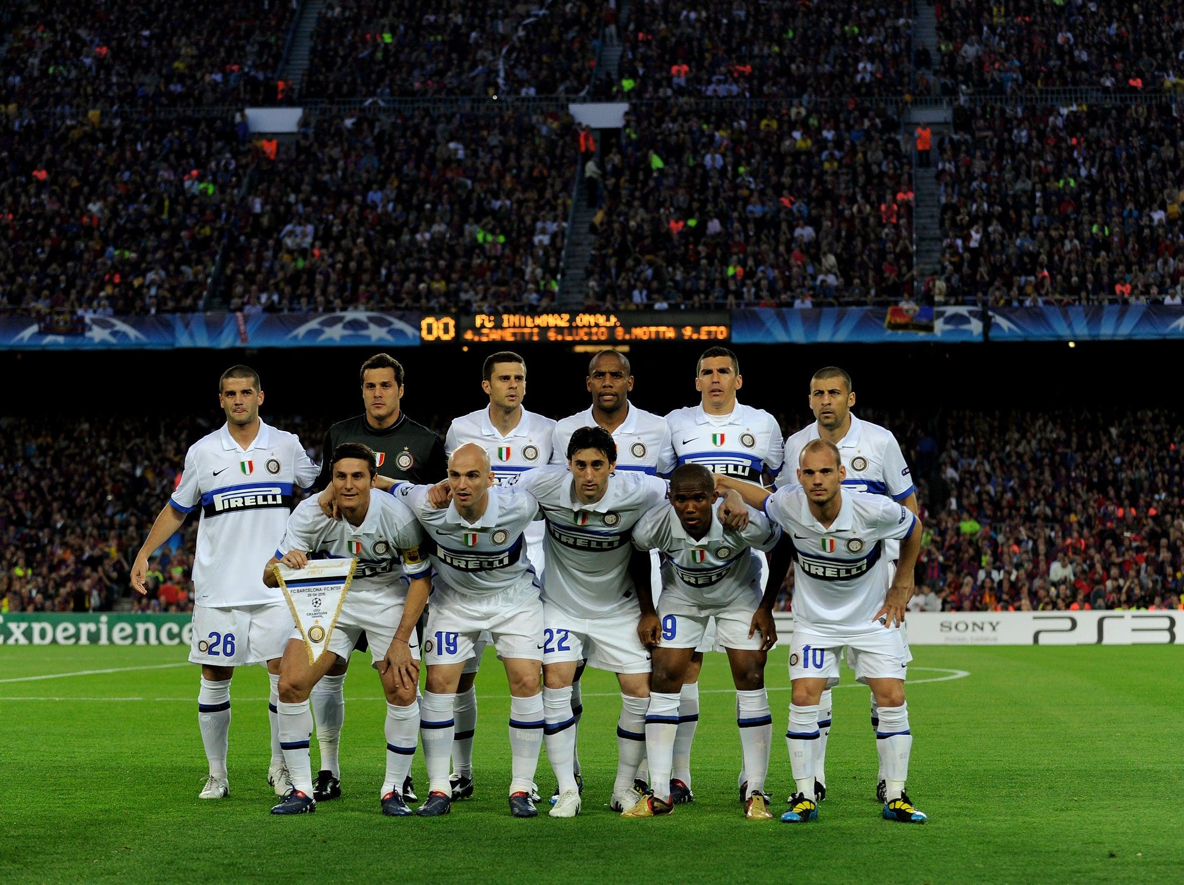 Футбол интер 10. 01. 2010