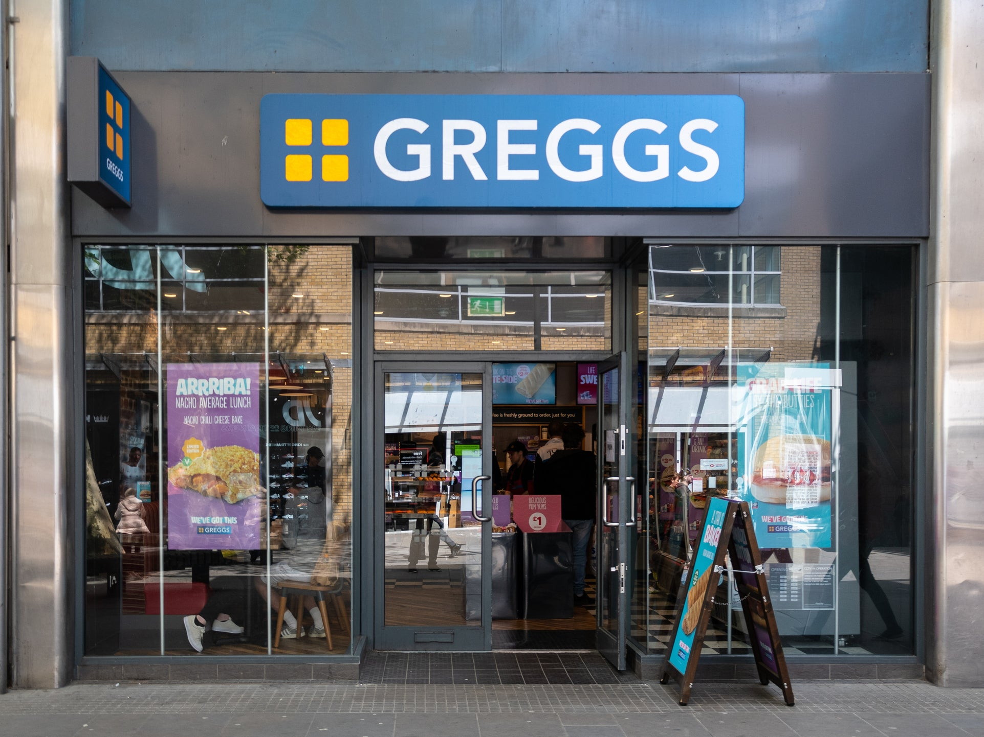 Greggs is stockpiling bacon and tuna ahead of Brexit 1