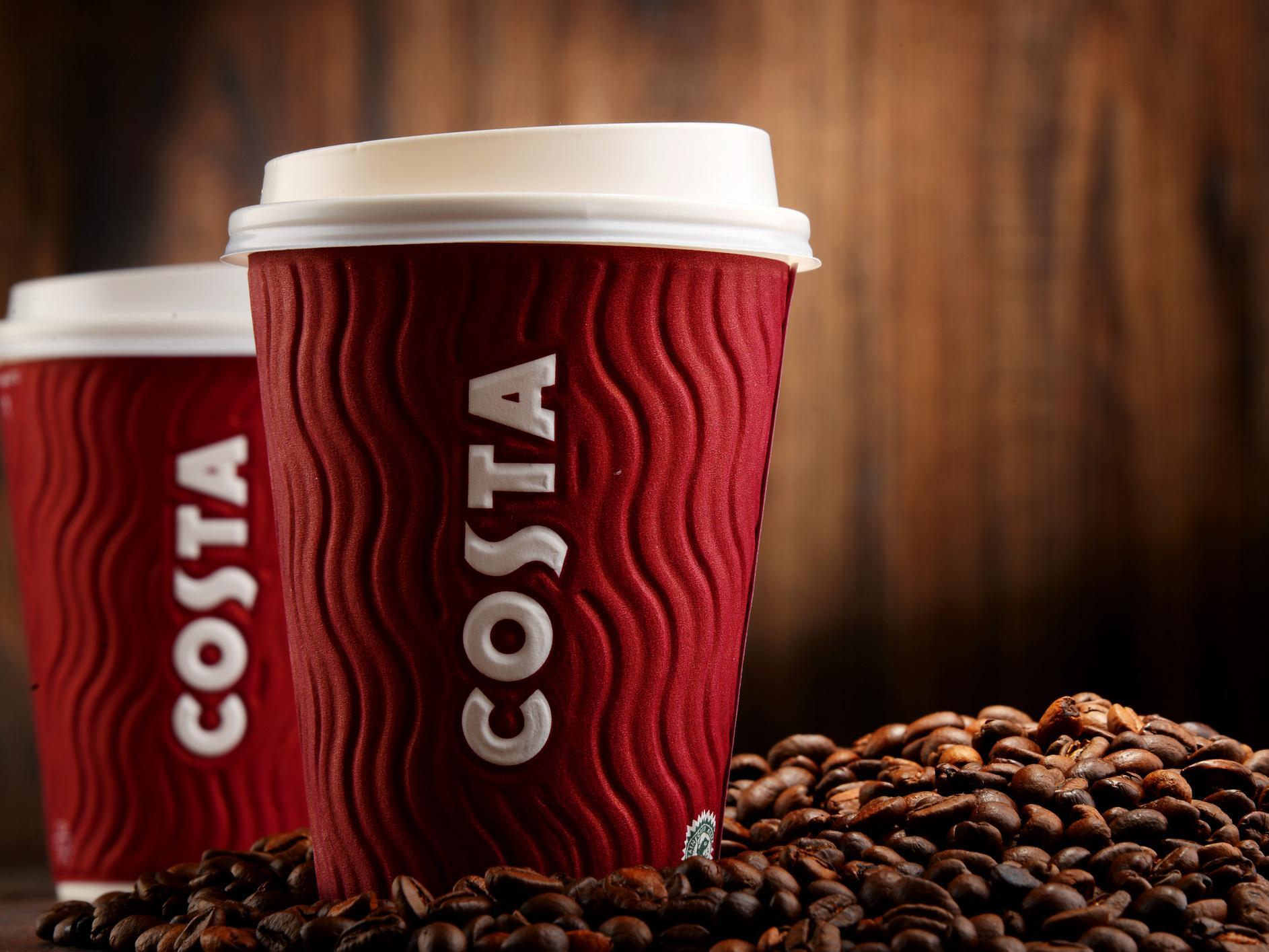 Costa customers disappointed as vending machines run out after chain promises free coffee all day 1