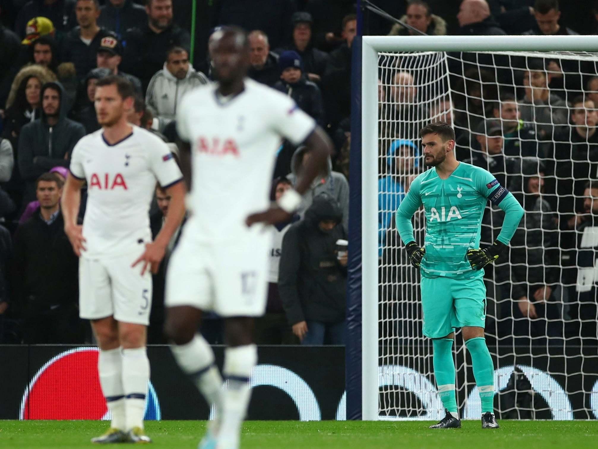 Tottenham vs Bayern Munich: Hugo Lloris admits Spurs 'gave up' in humiliating Champions League loss