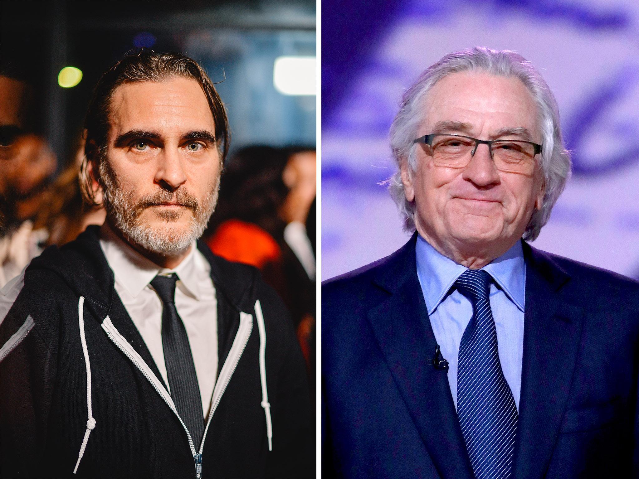 Joaquin Phoenix Didn T Speak To Robert De Niro On Joker Set