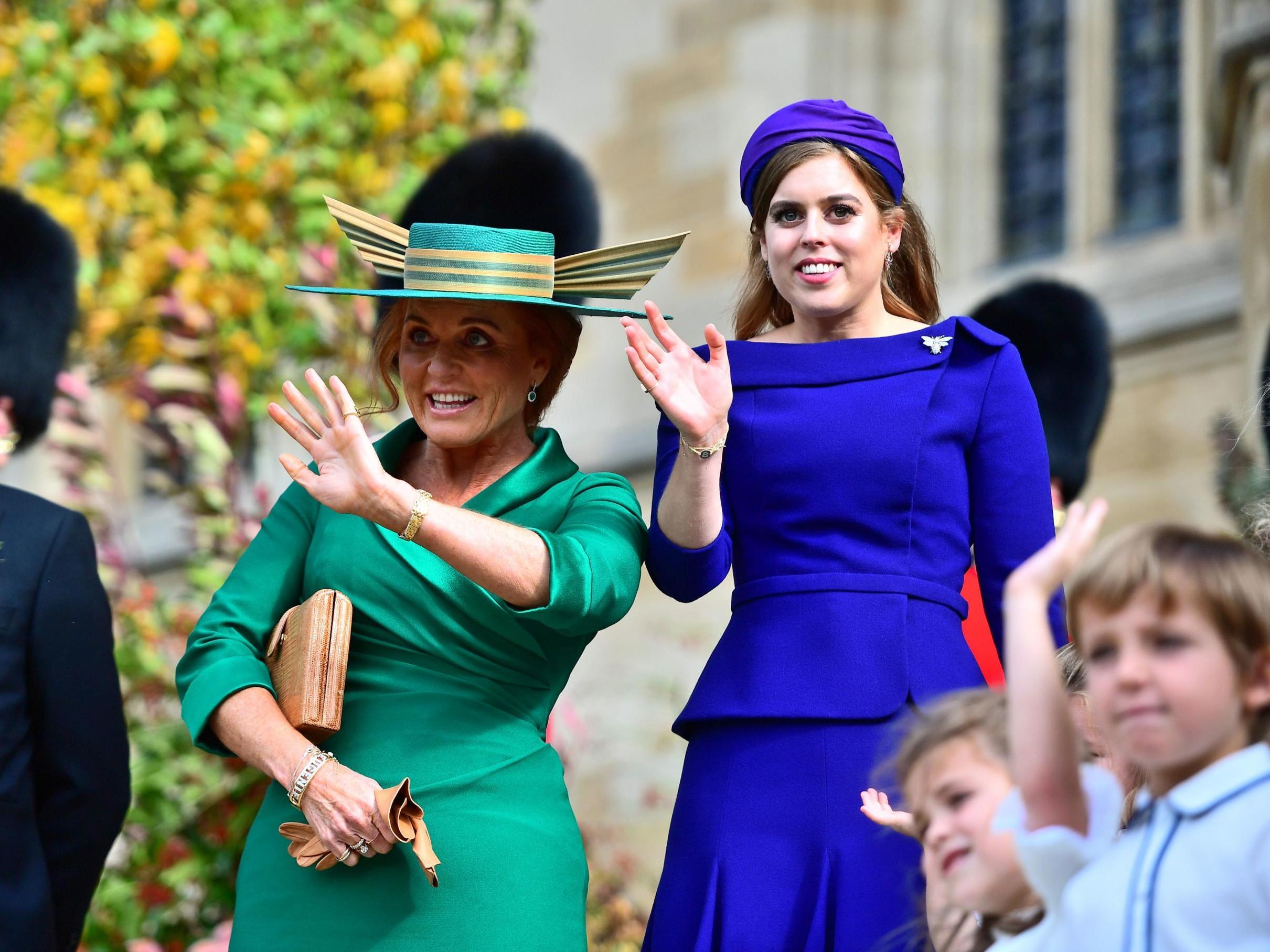 Sarah Ferguson could make feminist history at Princess Beatrice's wedding